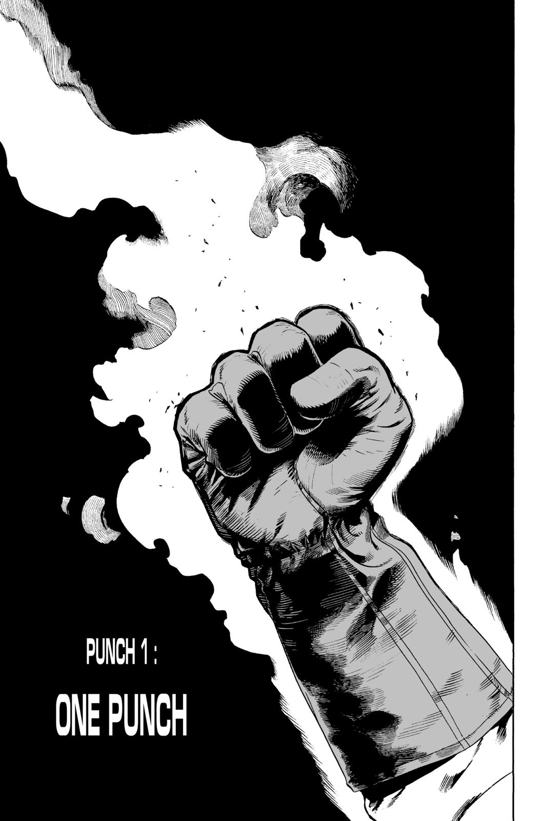 One-Punch Man, Chapter 1 image 006
