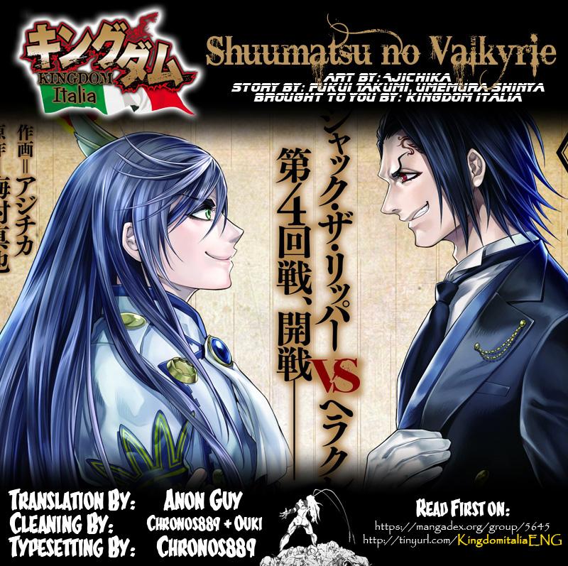 Shuumatsu no Valkyrie, Chapter 20 image 002