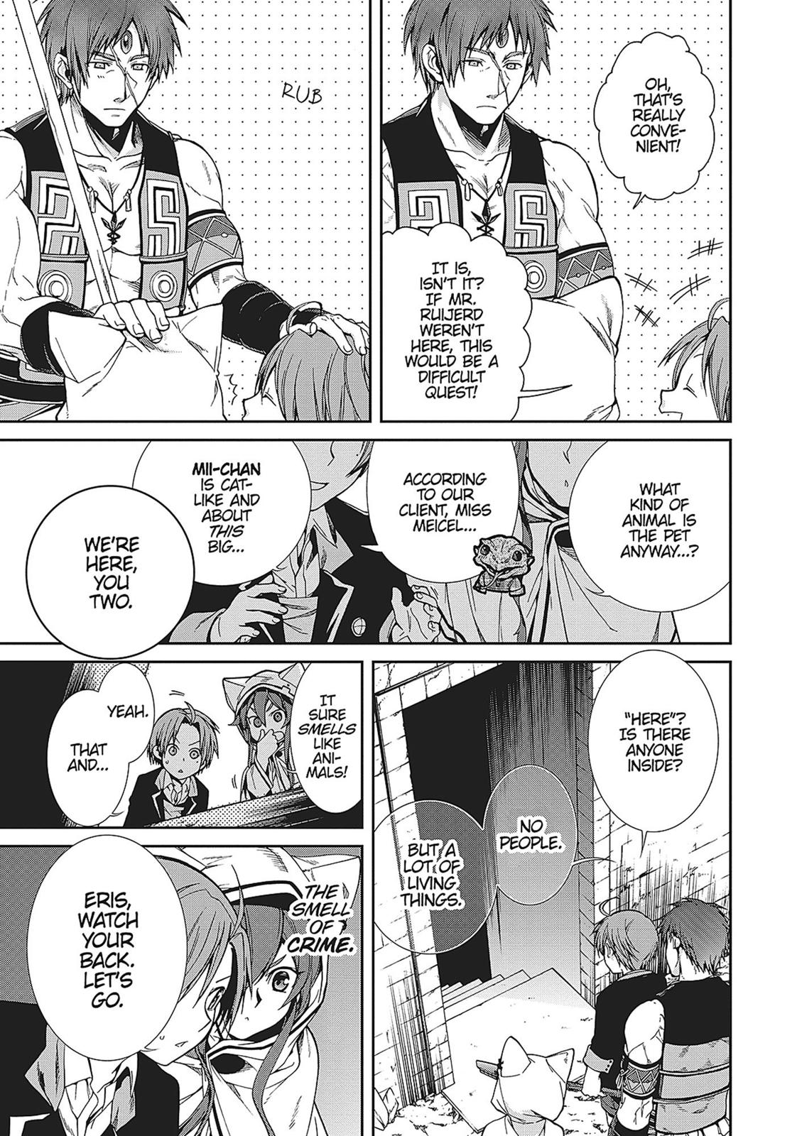 Mushoku Tensei, Chapter 23 image 003