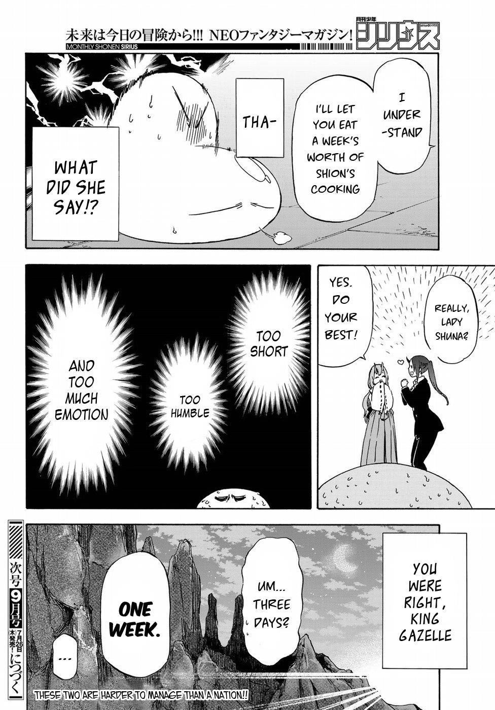 Tensei shitara Slime Datta Ken, Chapter 42 image 023