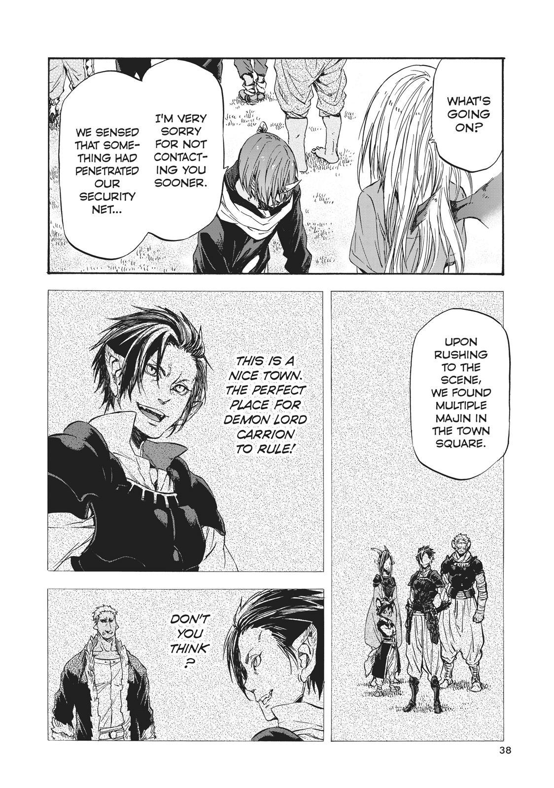 Tensei shitara Slime Datta Ken, Chapter 33 image 002