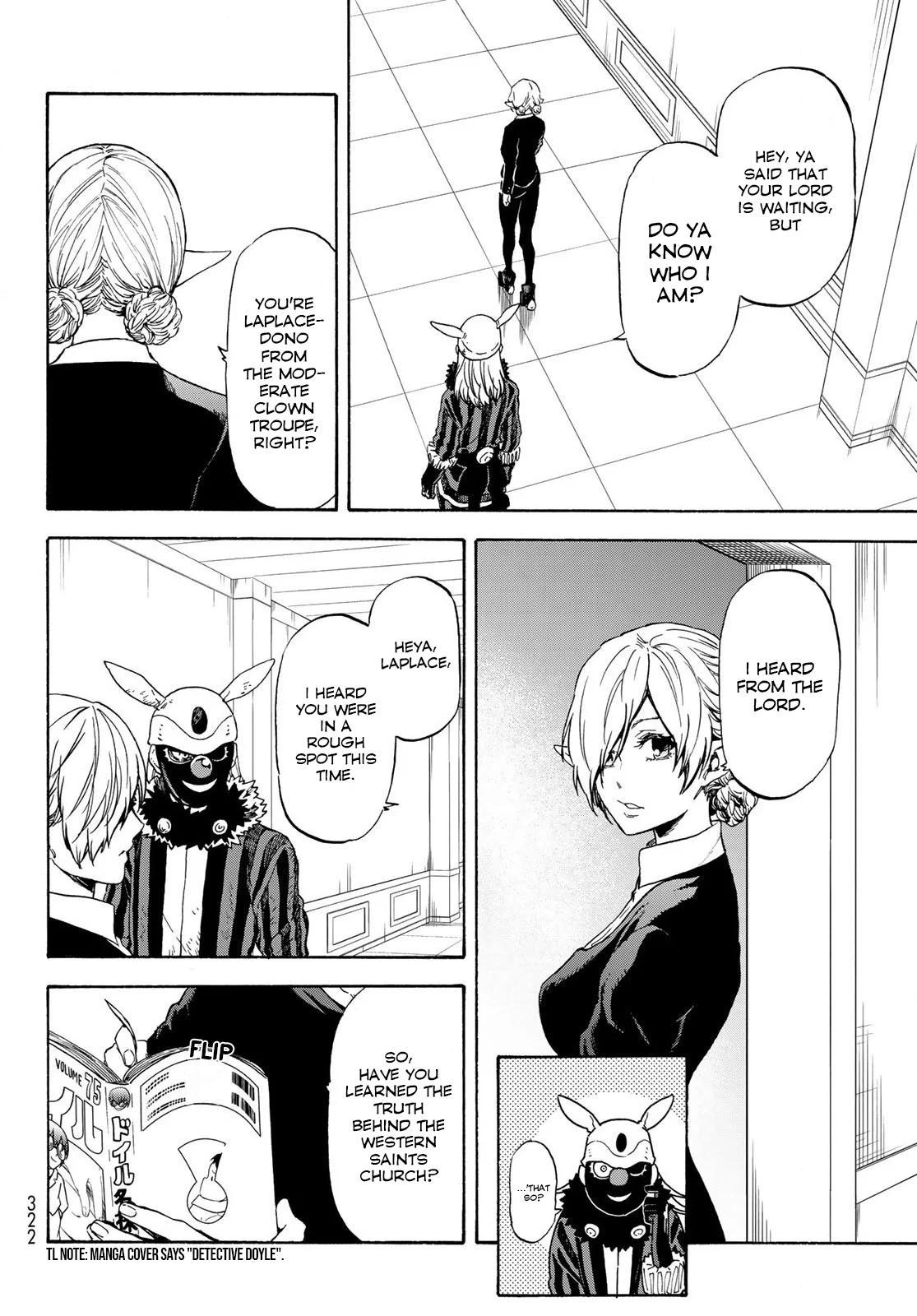Tensei shitara Slime Datta Ken, Chapter 73 image 008