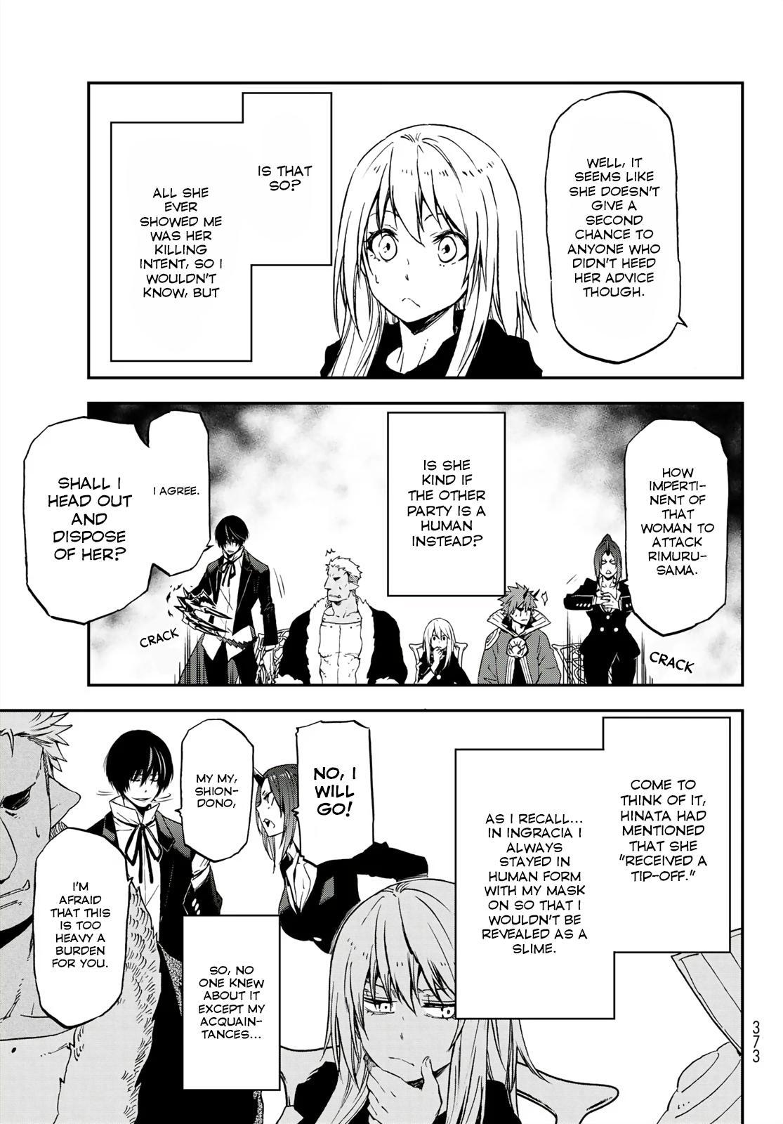 Tensei shitara Slime Datta Ken, Chapter 75 image 025
