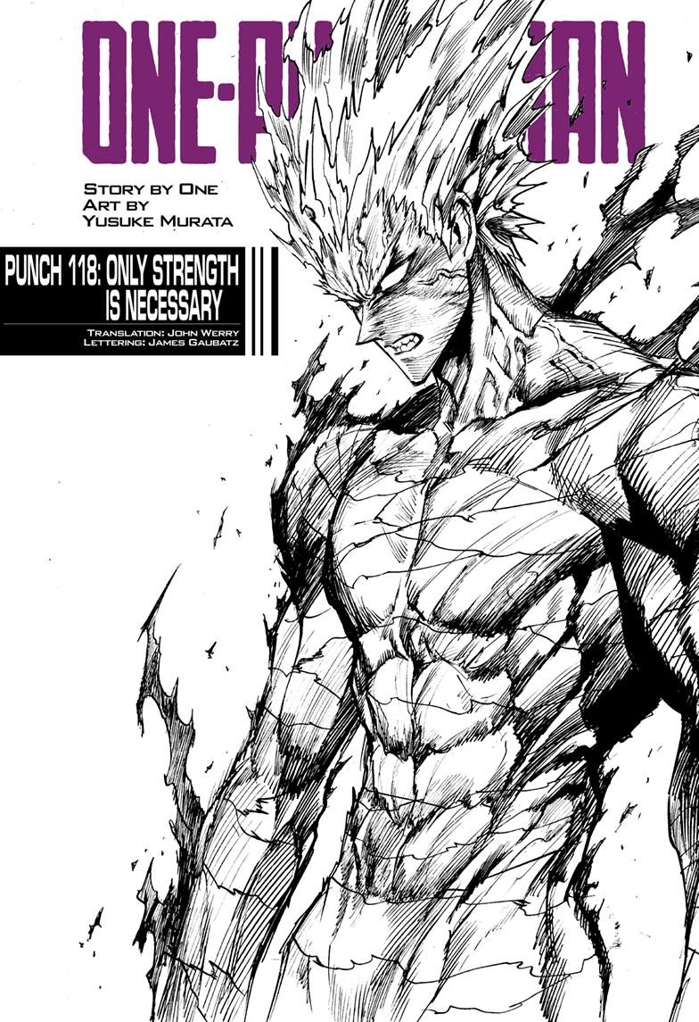 One-Punch Man, Chapter 118 image 001