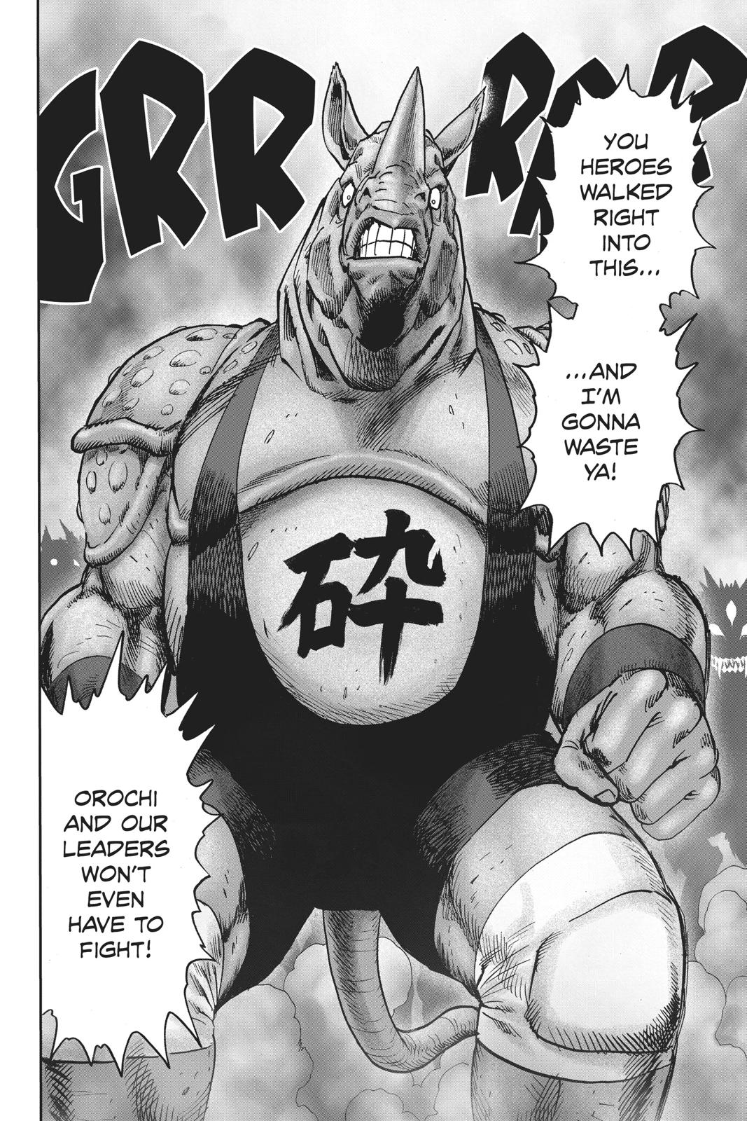 One-Punch Man, Chapter 96 image 093