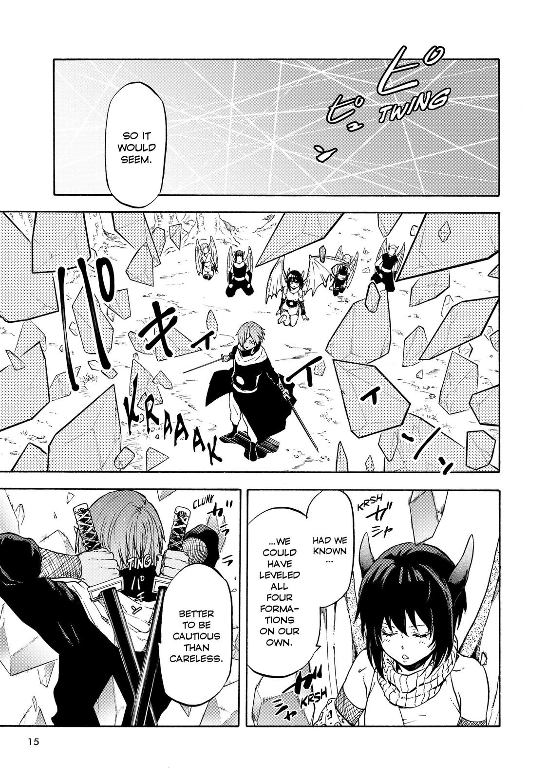 Tensei shitara Slime Datta Ken, Chapter 64 image 015