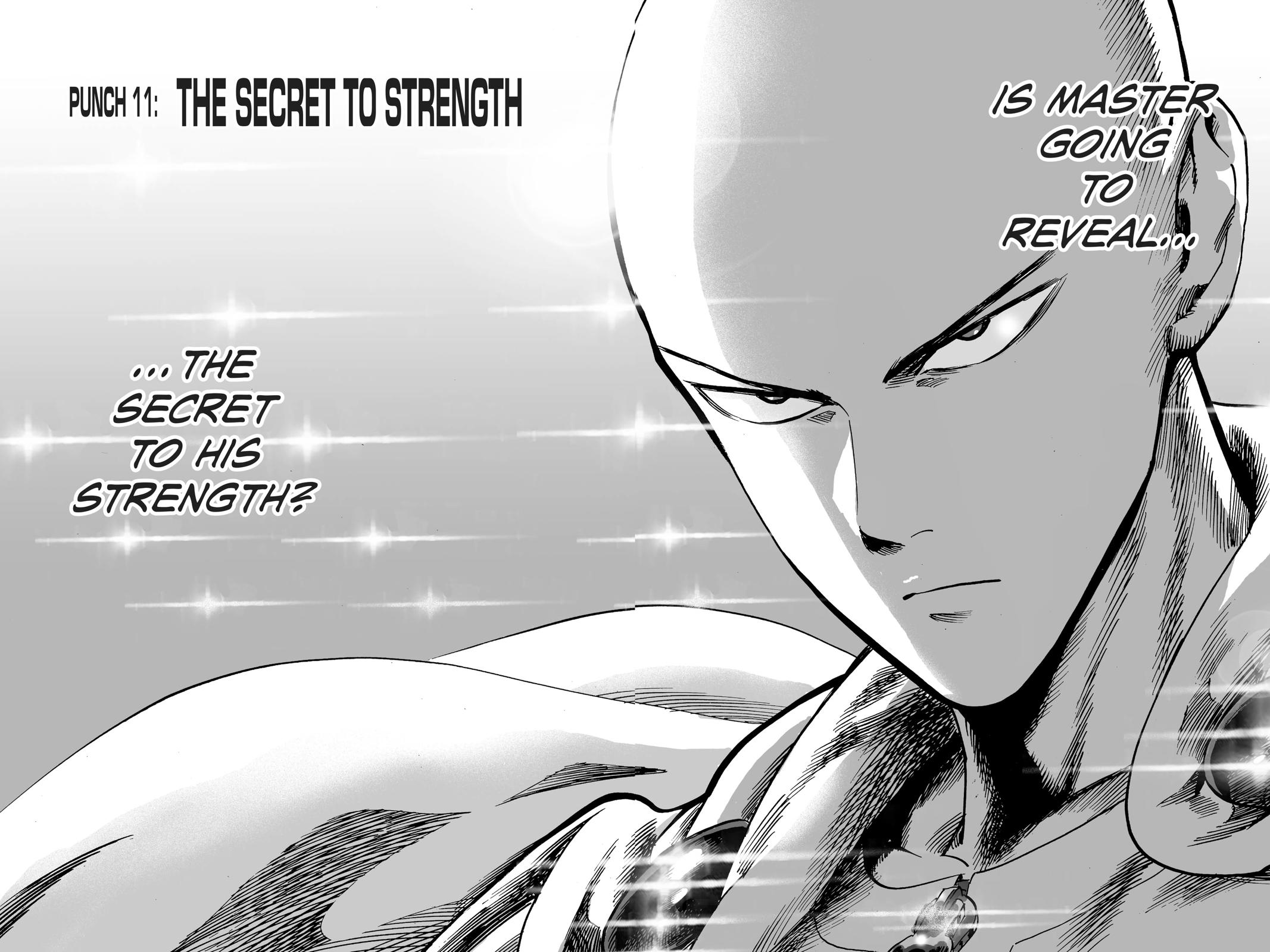 One-Punch Man, Chapter 11 image 002