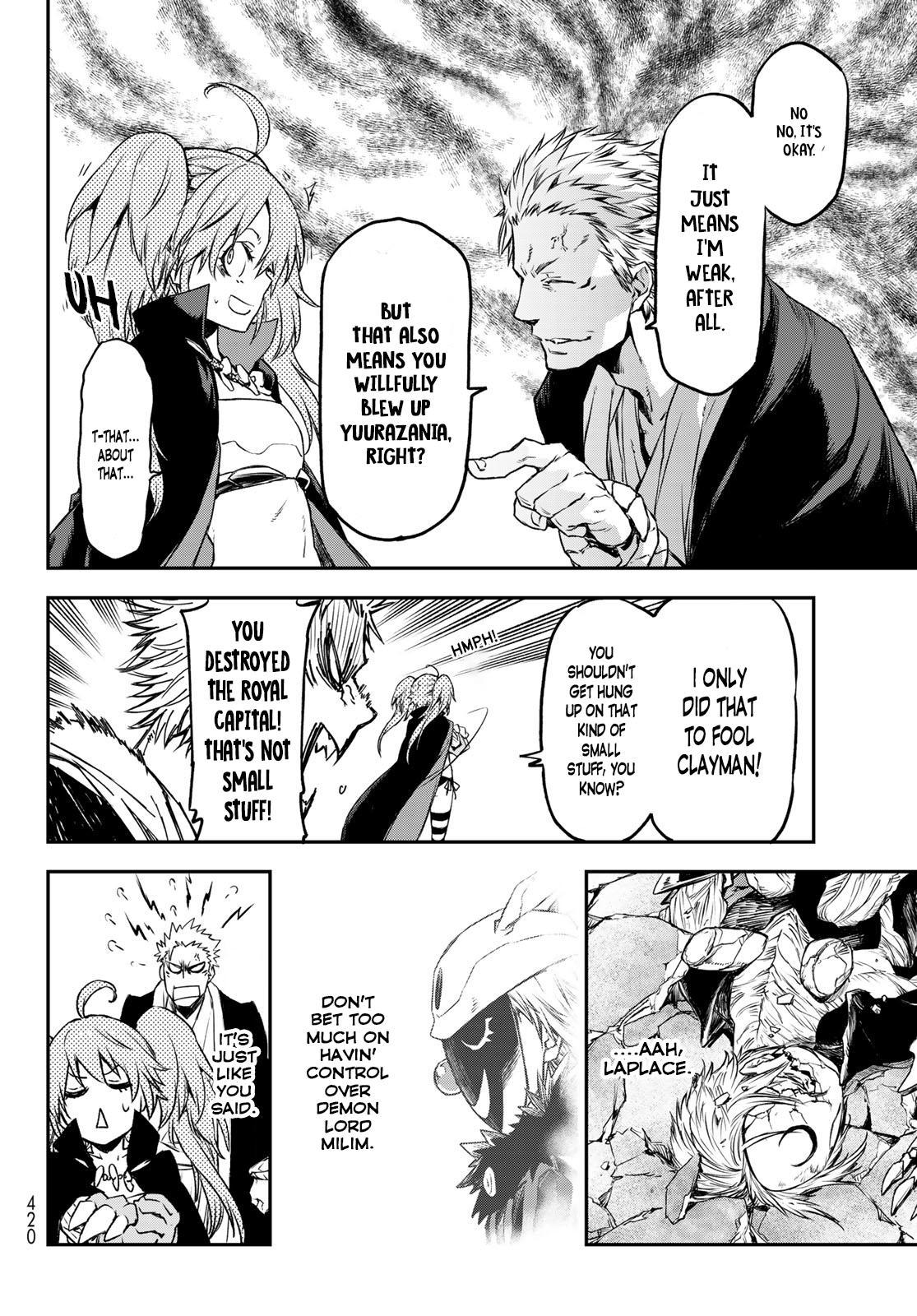 Tensei shitara Slime Datta Ken, Chapter 84 image 034