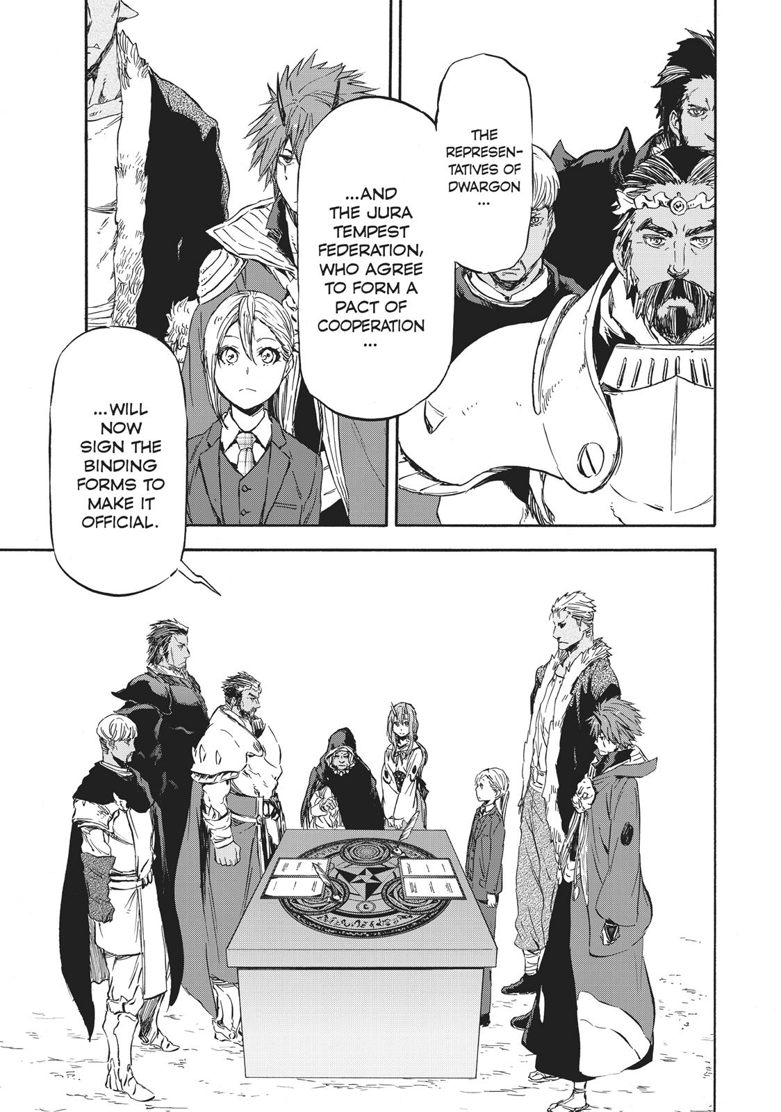 Tensei shitara Slime Datta Ken, Chapter 30 image 001