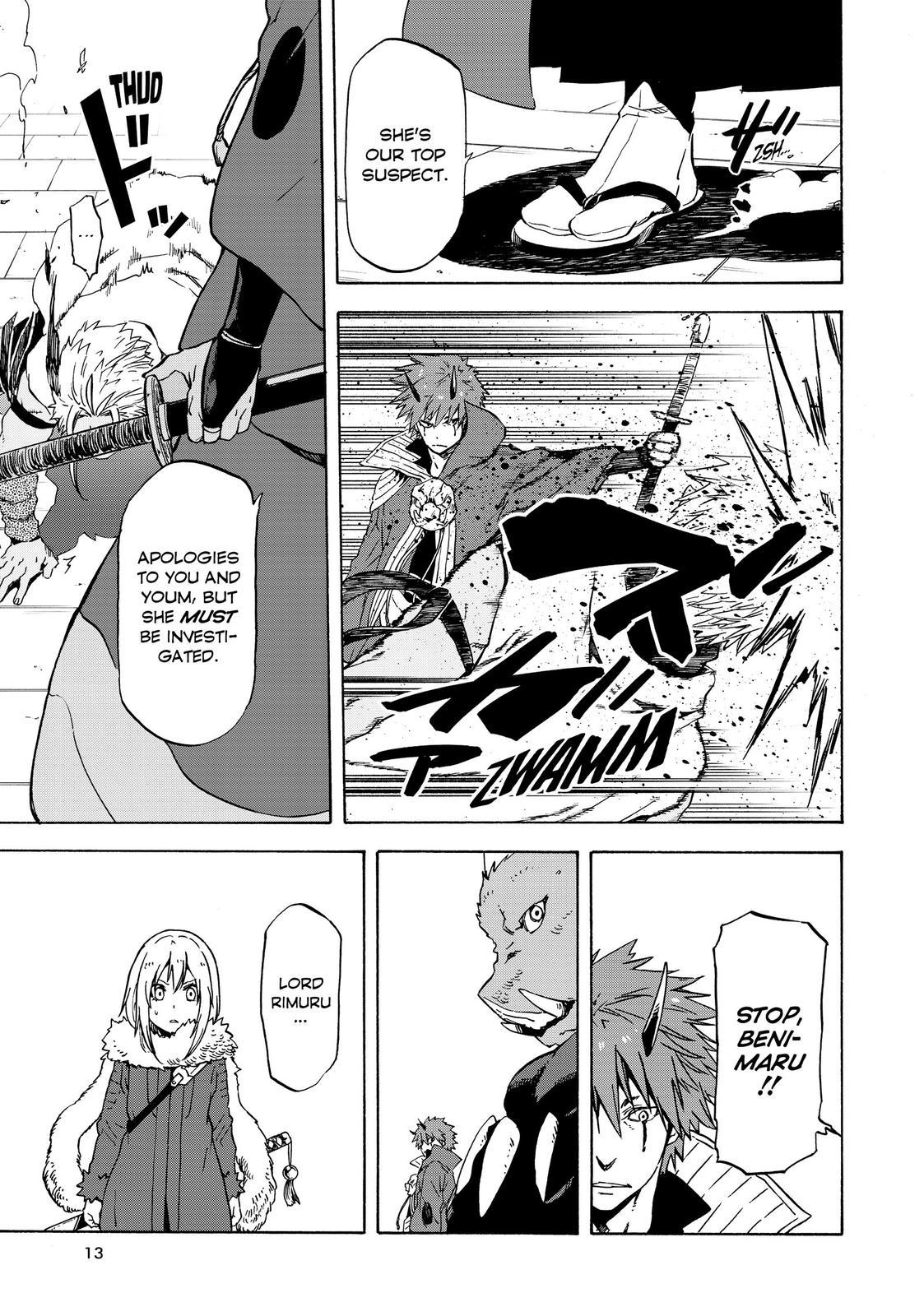 Tensei shitara Slime Datta Ken, Chapter 59 image 013