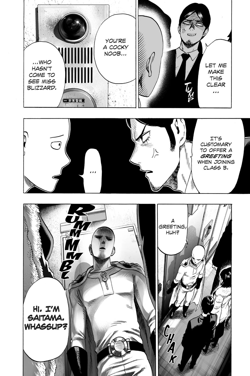One-Punch Man, Chapter 42 image 015