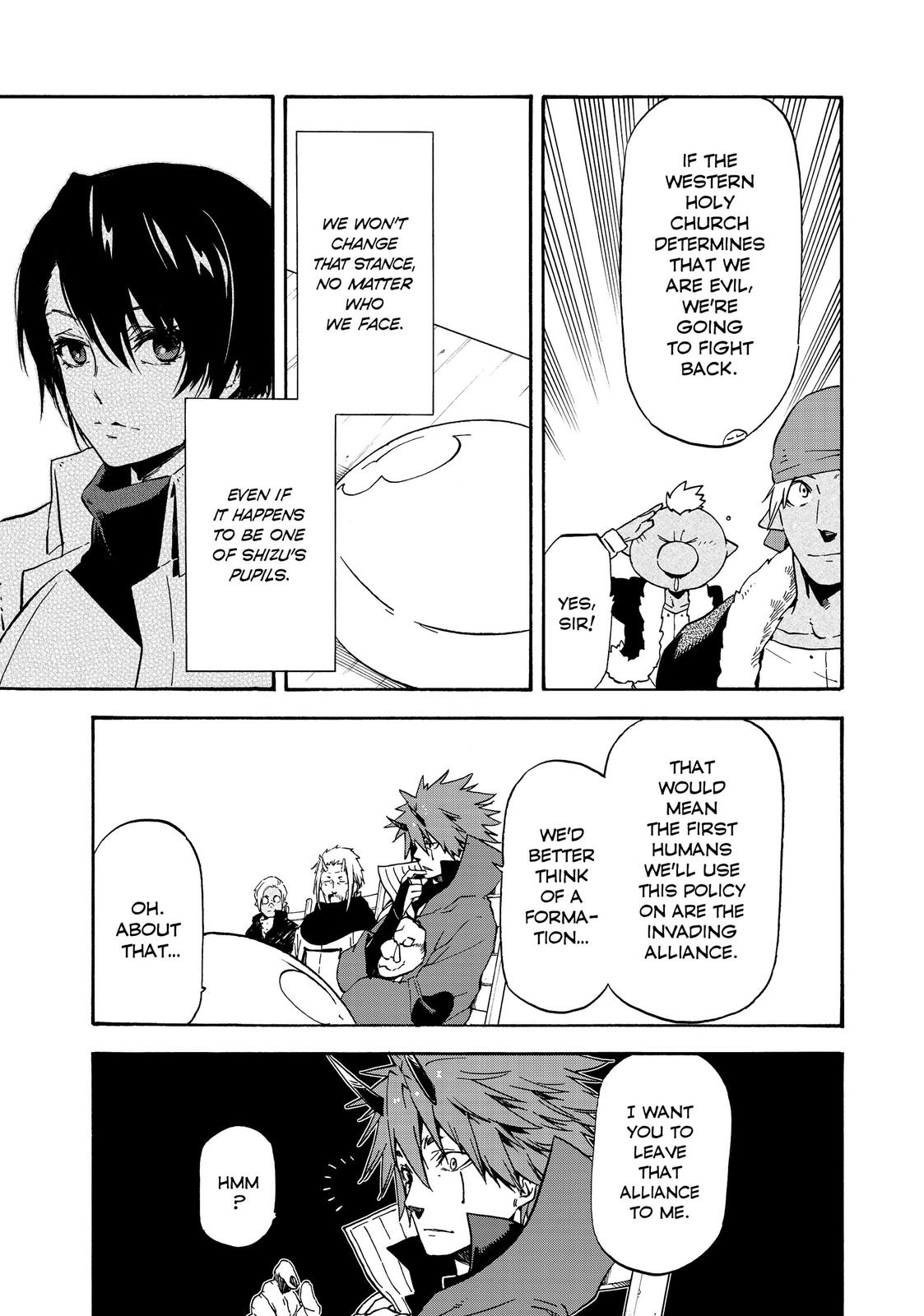 Tensei shitara Slime Datta Ken, Chapter 63 image 007