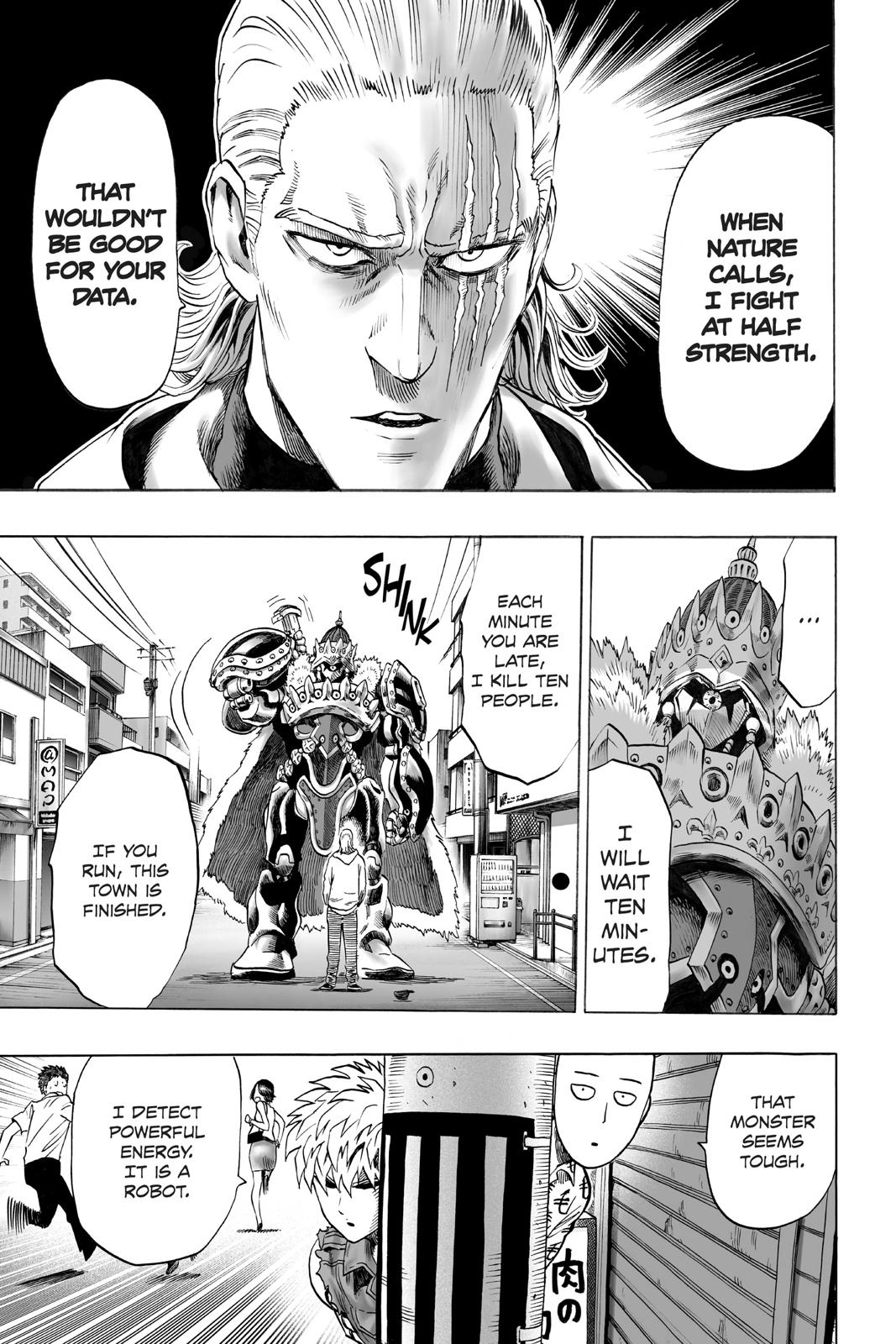 One-Punch Man, Chapter 38 image 026
