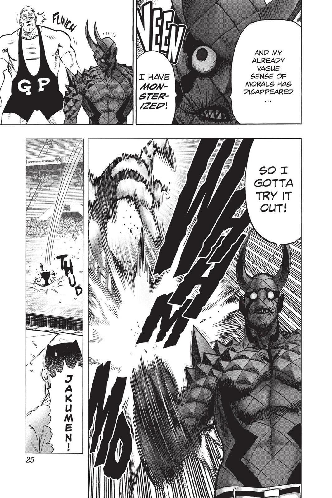 One-Punch Man, Chapter 72 image 025