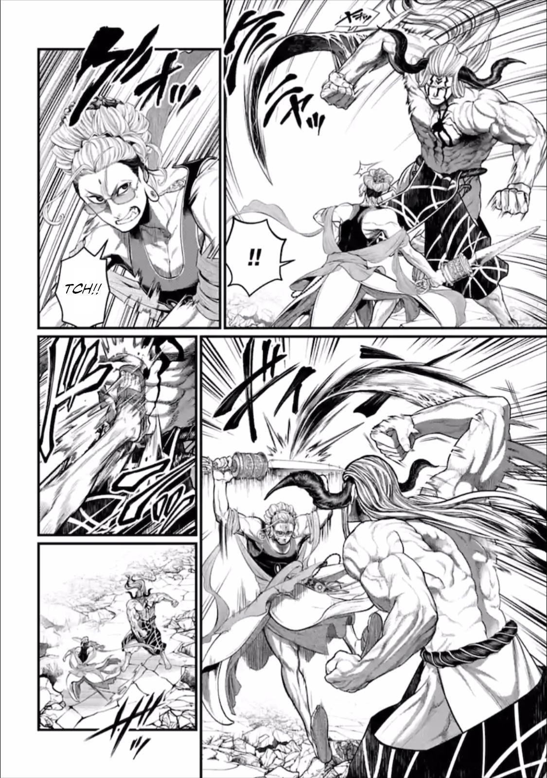 Shuumatsu no Valkyrie, Chapter 50 image 029