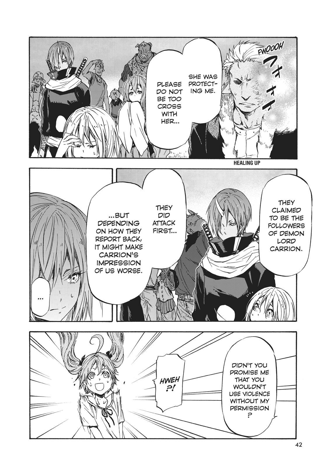 Tensei shitara Slime Datta Ken, Chapter 33 image 006