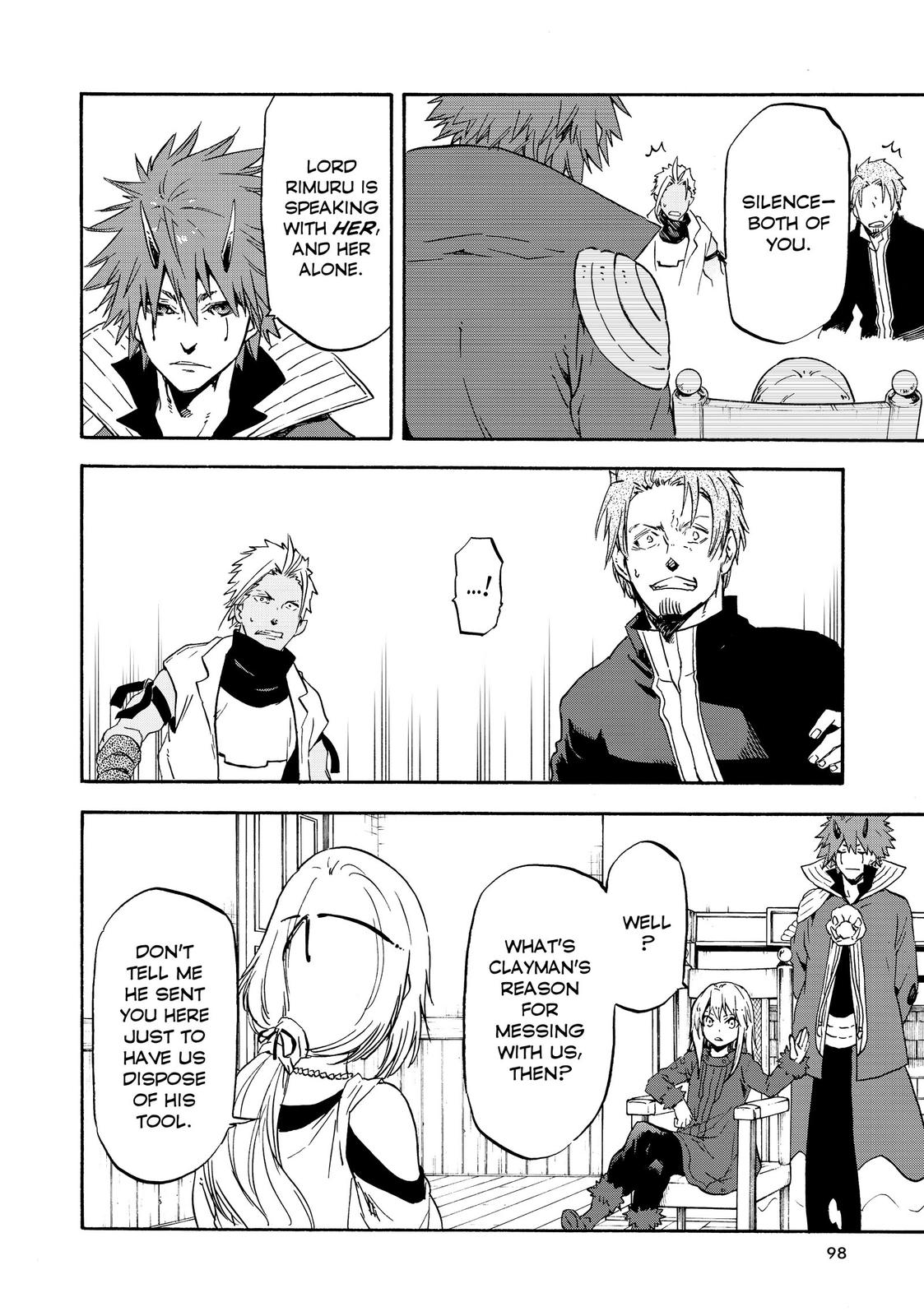Tensei shitara Slime Datta Ken, Chapter 61 image 012