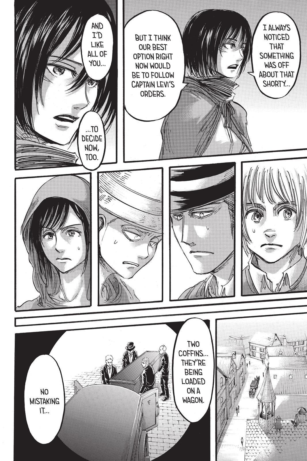 Attack On Titan, Episode 57 - Attack On Titan Manga Online