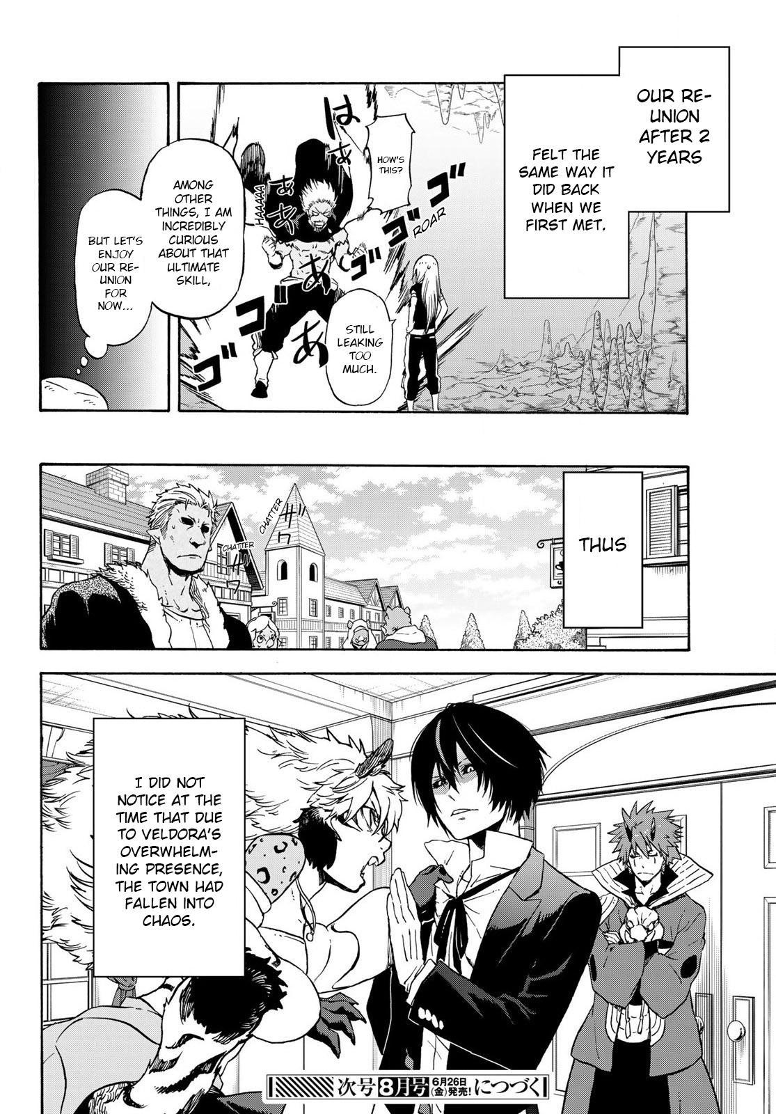 Tensei shitara Slime Datta Ken, Chapter 71 image 037