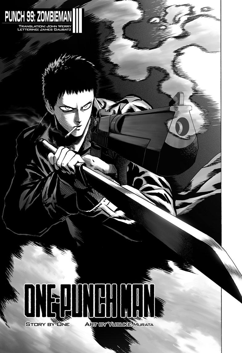 One-Punch Man, Chapter 99 Mag image 001