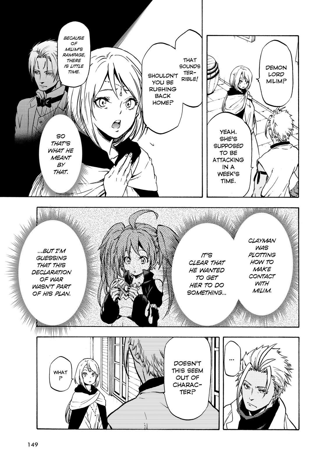 Tensei shitara Slime Datta Ken, Chapter 58 image 011