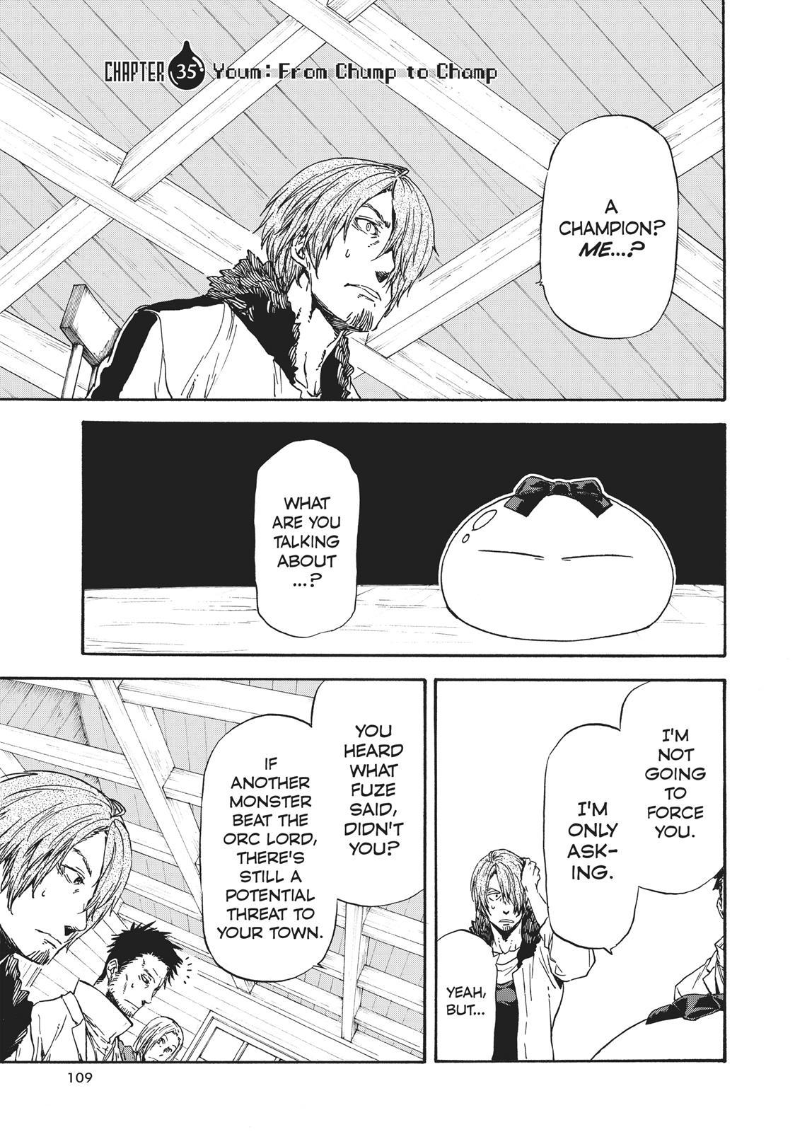Tensei shitara Slime Datta Ken, Chapter 35 image 001
