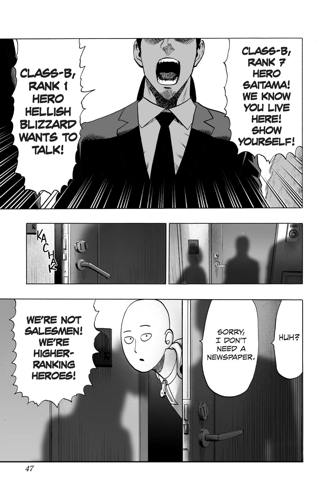 One-Punch Man, Chapter 42 image 012