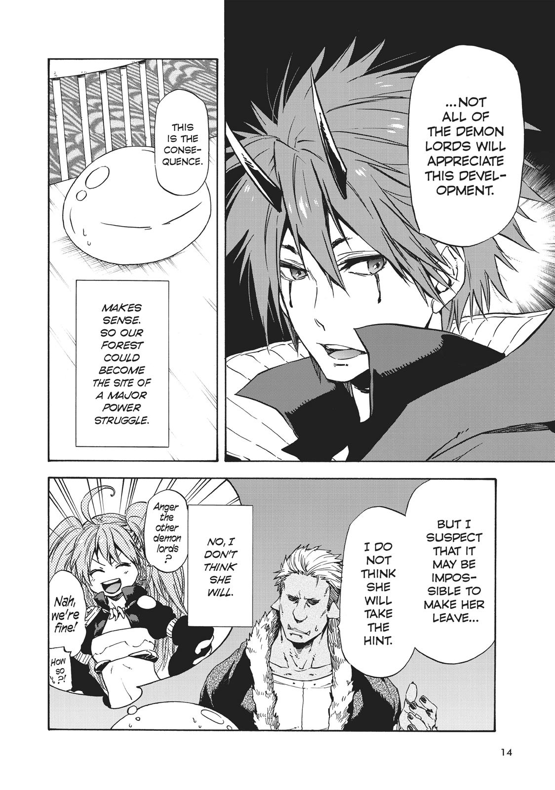 Tensei shitara Slime Datta Ken, Chapter 32 image 014