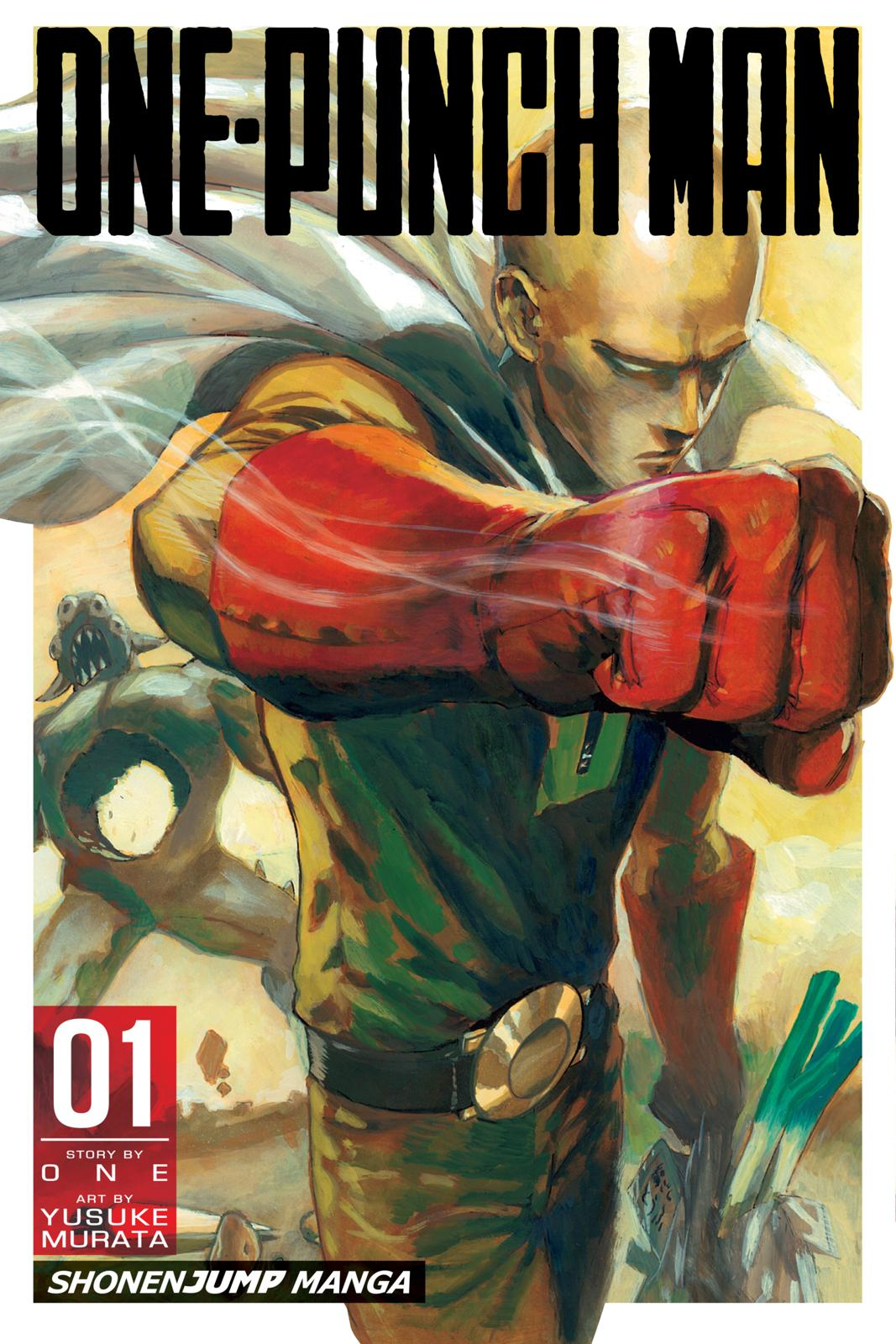 One-Punch Man, Chapter 1 image 001