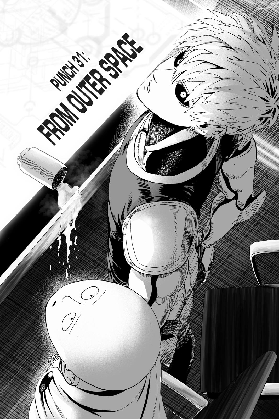 One-Punch Man, Chapter 32 image 001