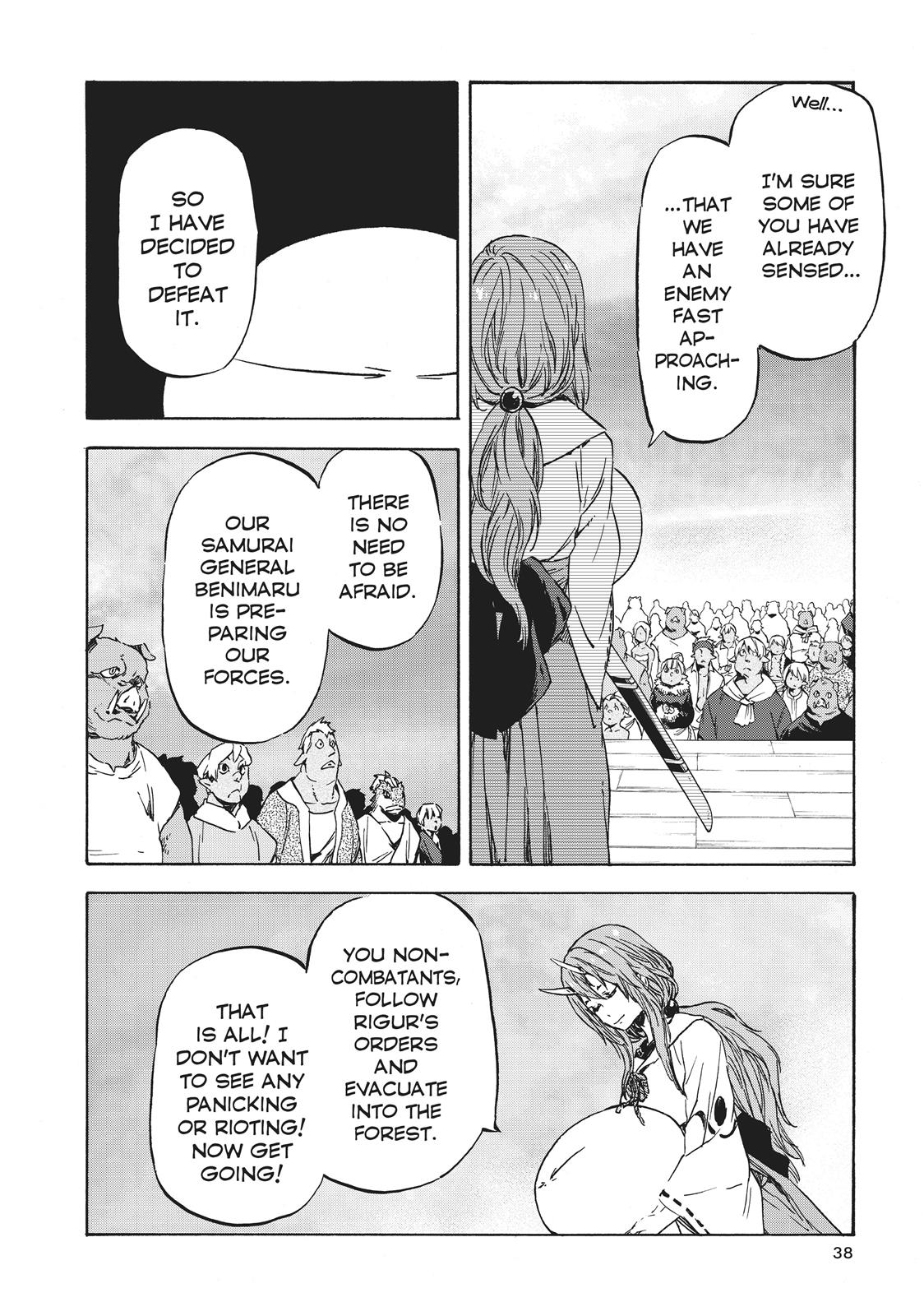 Tensei shitara Slime Datta Ken, Chapter 37 image 004