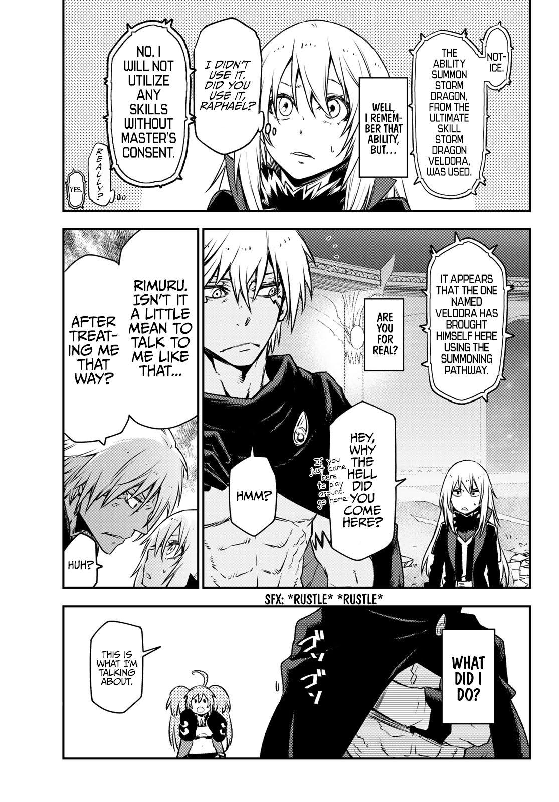 Tensei shitara Slime Datta Ken, Chapter 83 image 021