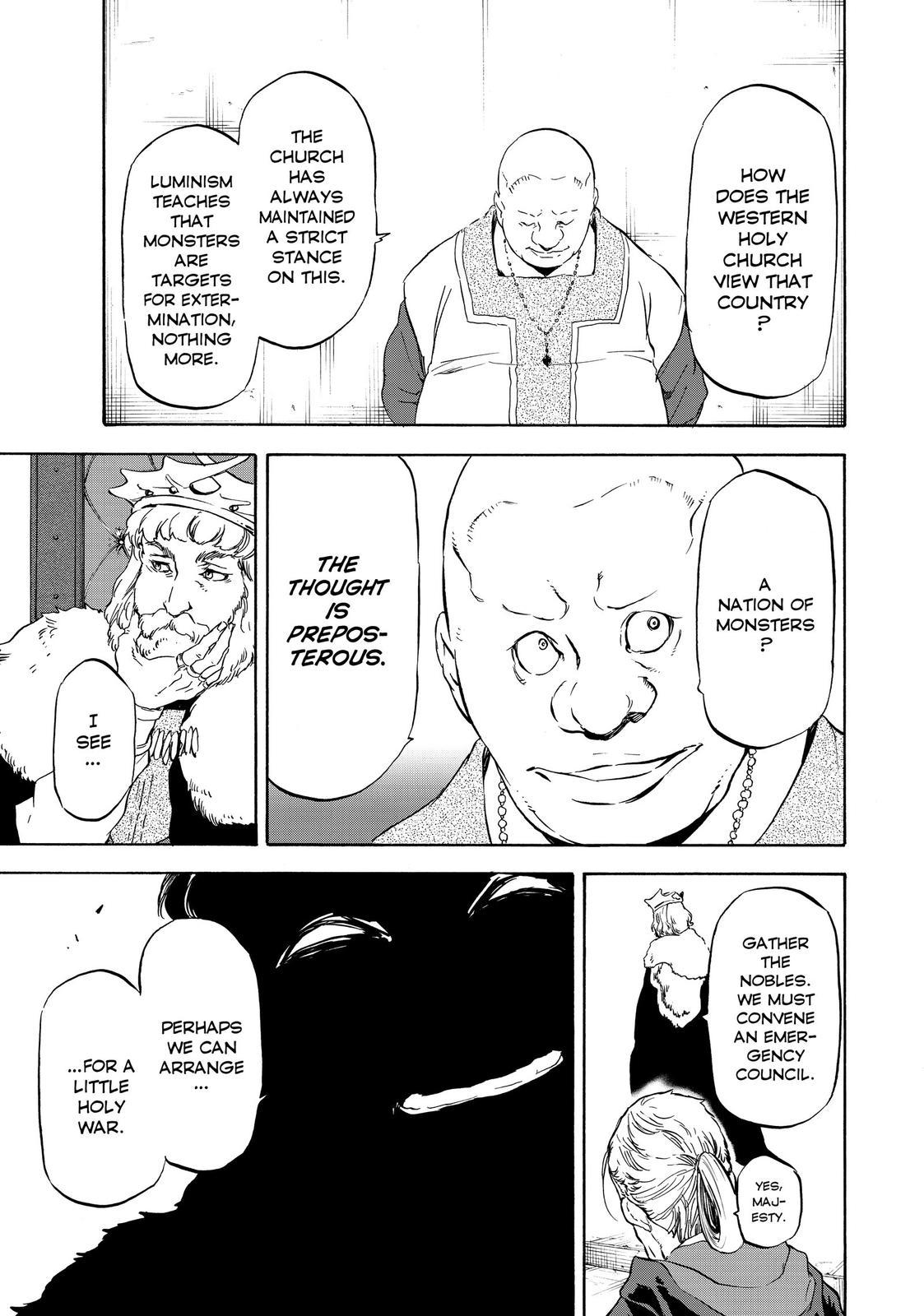 Tensei shitara Slime Datta Ken, Chapter 54 image 009