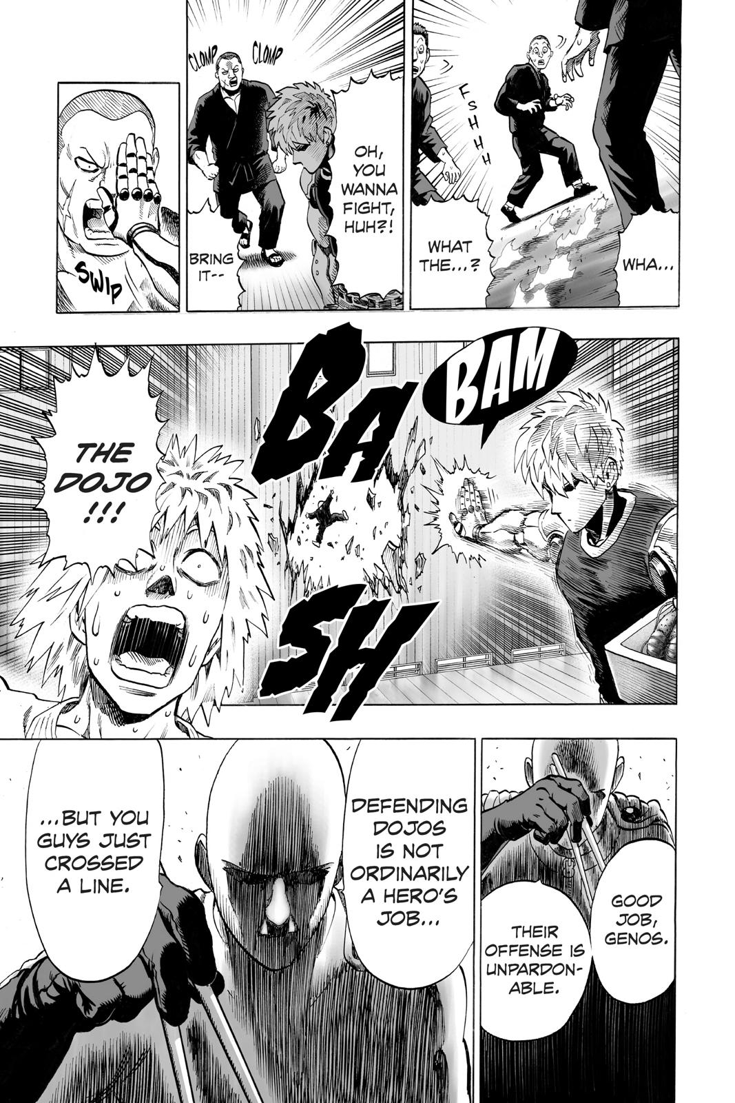 One-Punch Man, Chapter 40.6 image 017