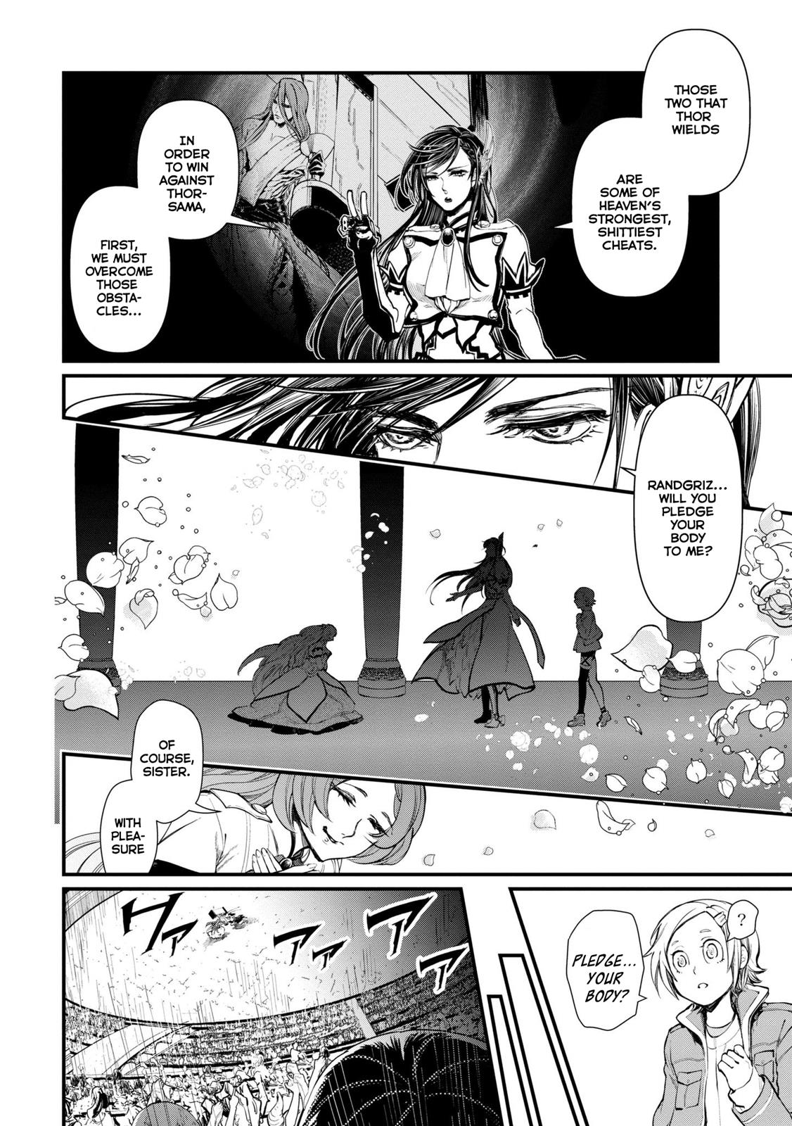 Shuumatsu no Valkyrie, Chapter 3 image 028