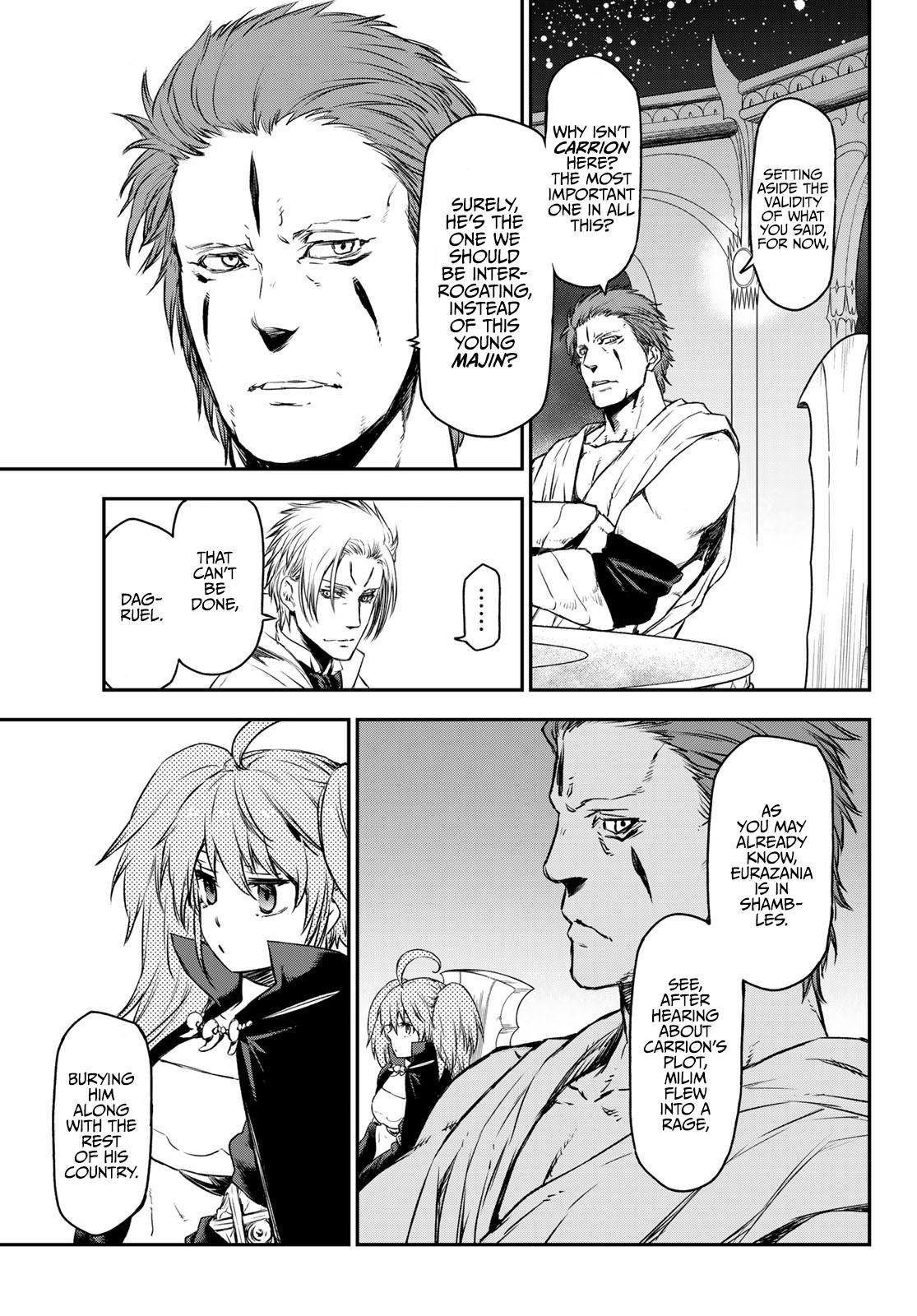 Tensei shitara Slime Datta Ken, Chapter 81 image 017