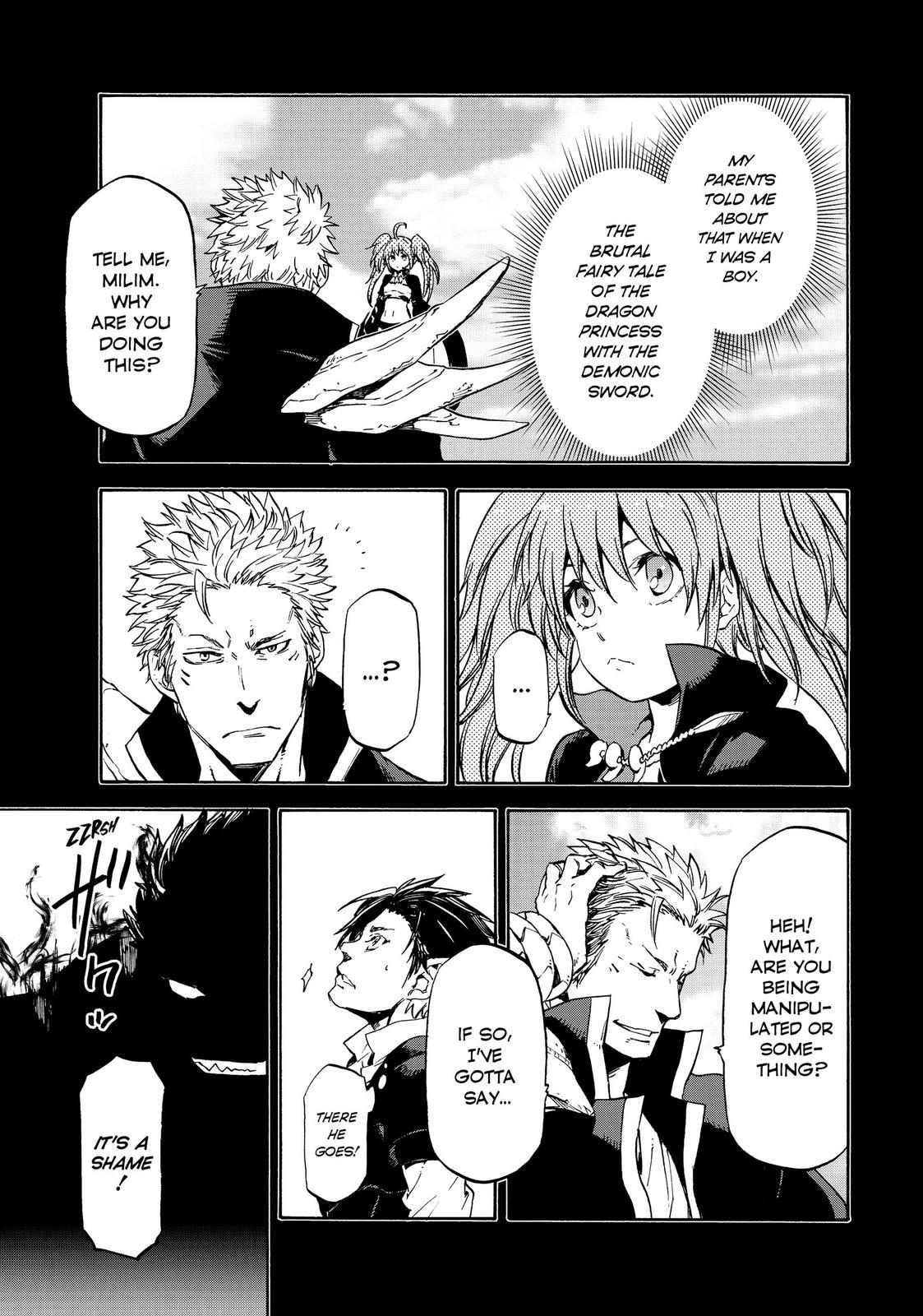 Tensei shitara Slime Datta Ken, Chapter 70 image 009