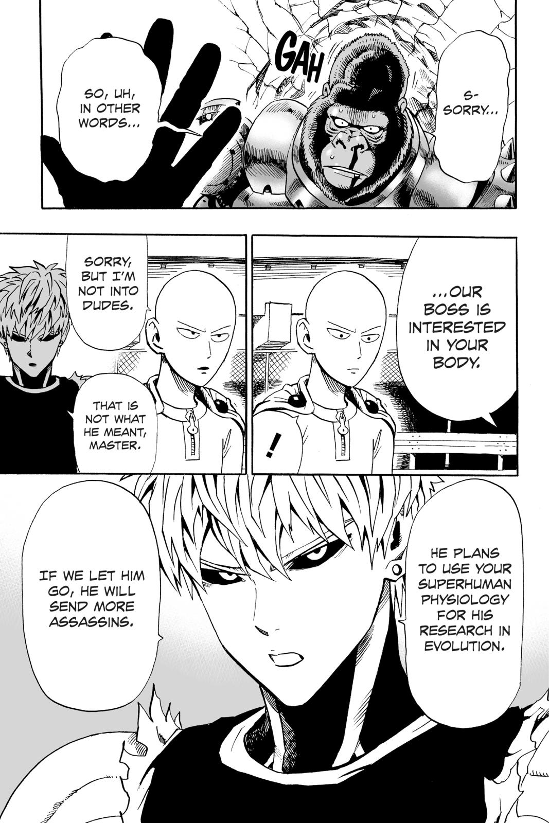 One-Punch Man, Chapter 9 image 013