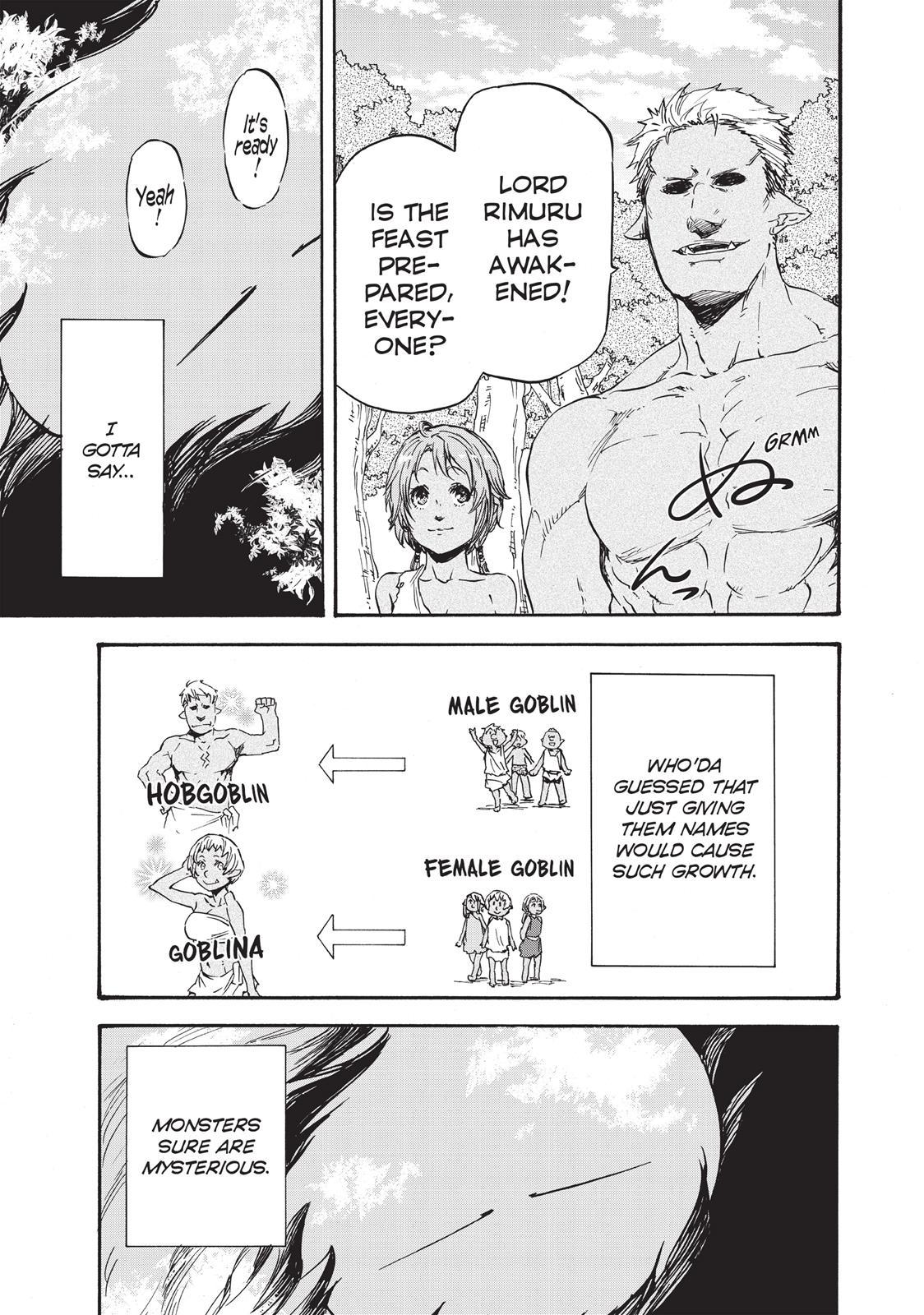 Tensei shitara Slime Datta Ken, Chapter 4 image 001
