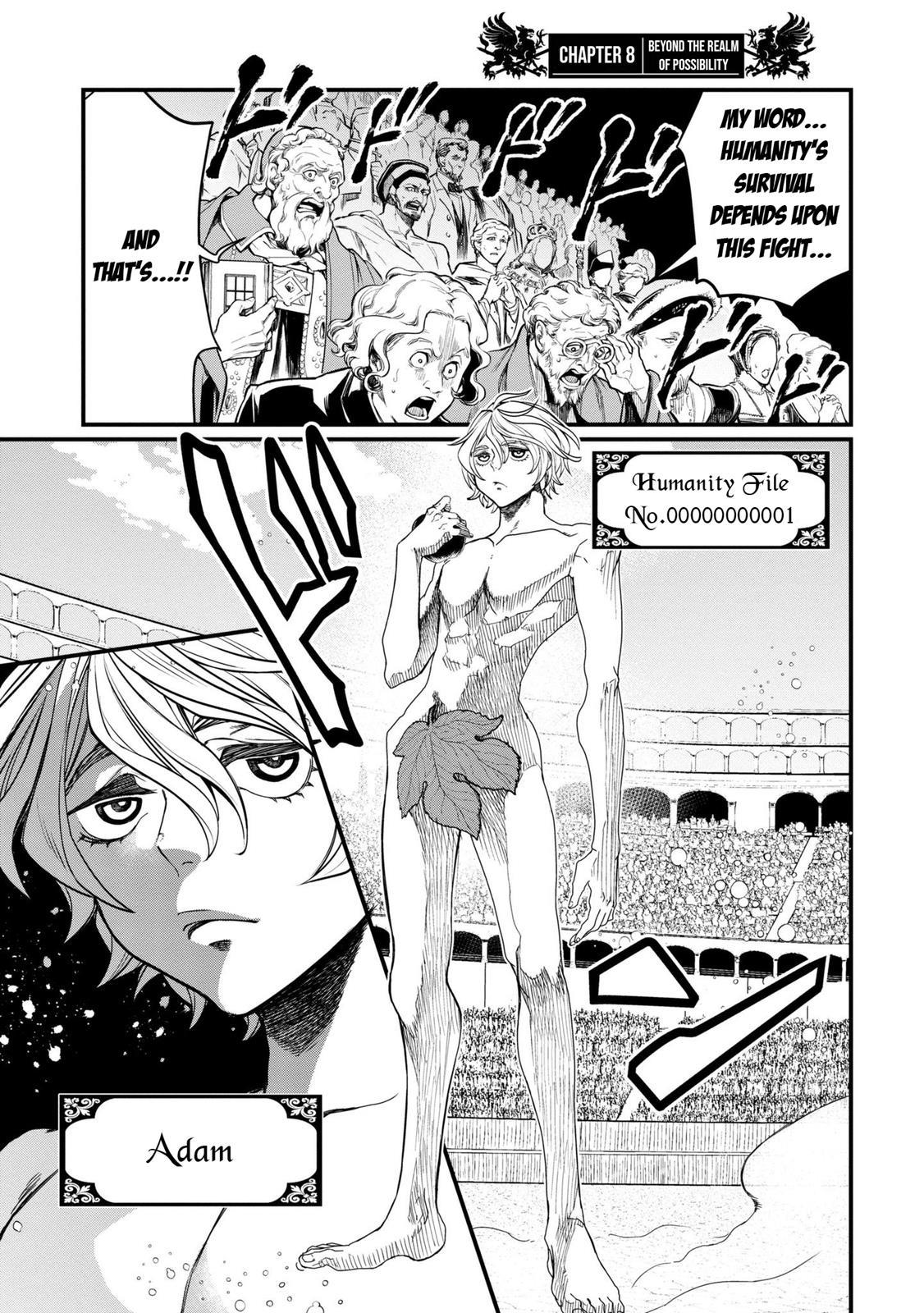 Shuumatsu no Valkyrie, Chapter 8 image 002