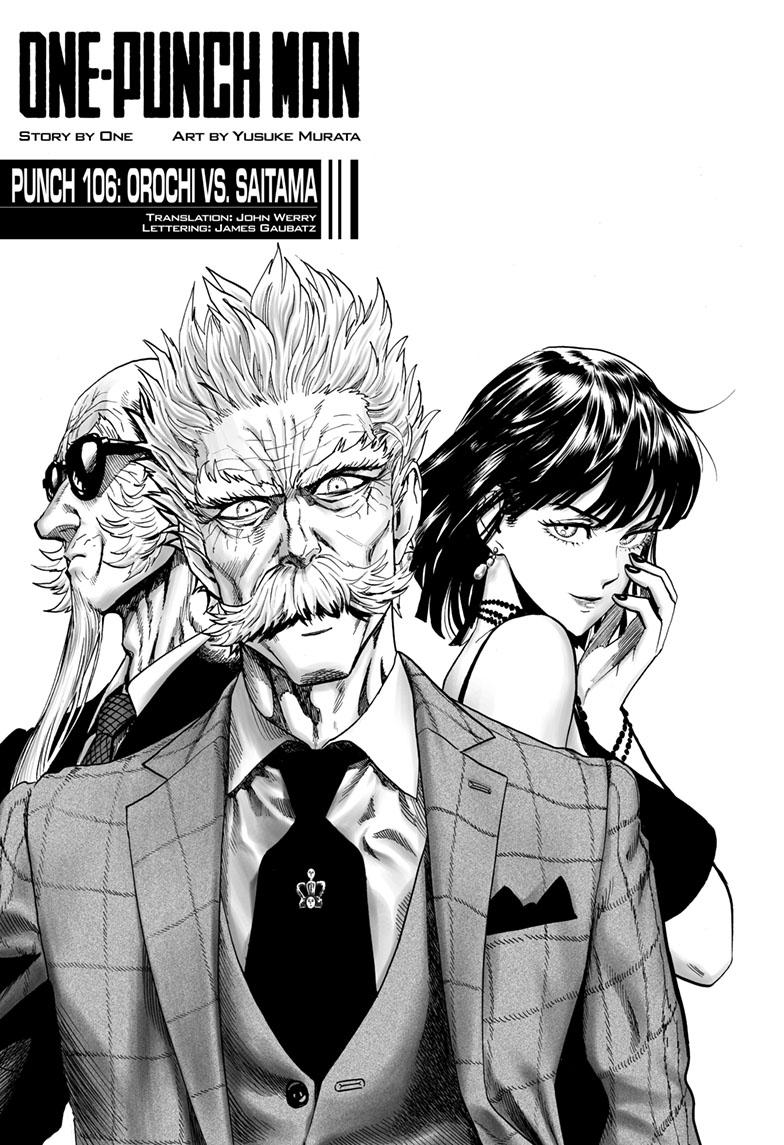 One-Punch Man, Chapter 106 image 001