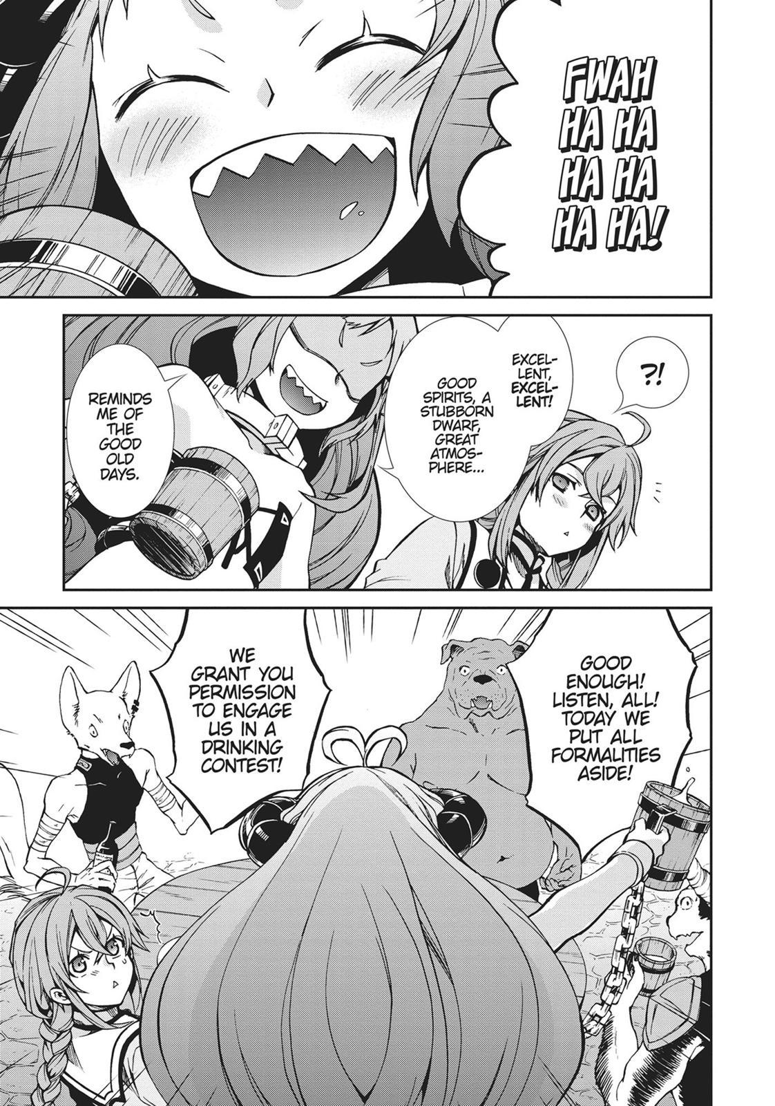 Mushoku Tensei, Chapter 42 image 007