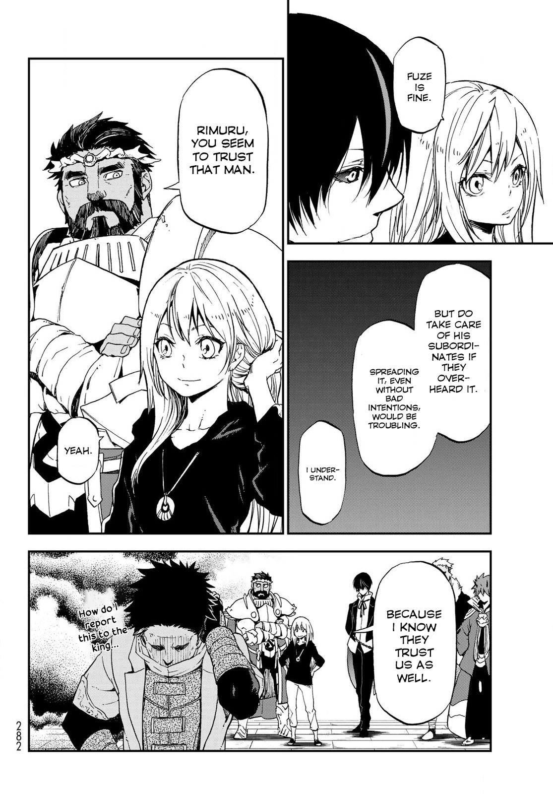 Tensei shitara Slime Datta Ken, Chapter 74 image 014