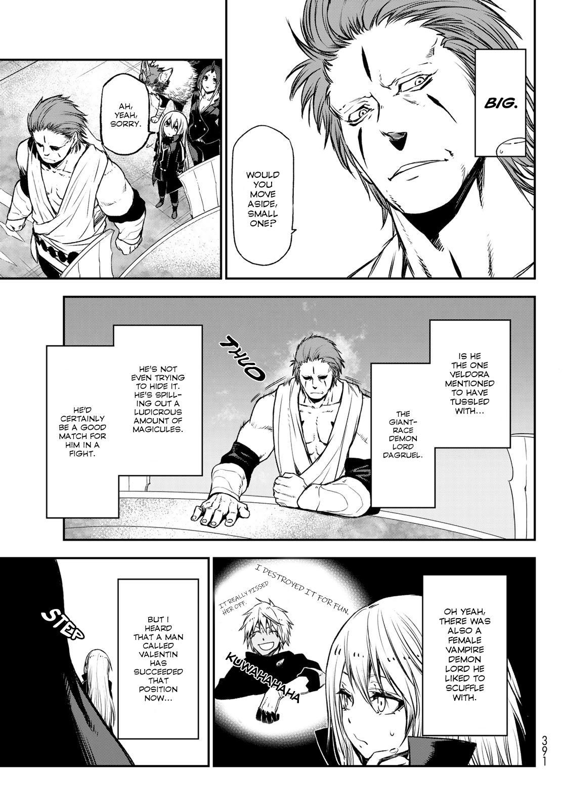 Tensei shitara Slime Datta Ken, Chapter 78 image 007
