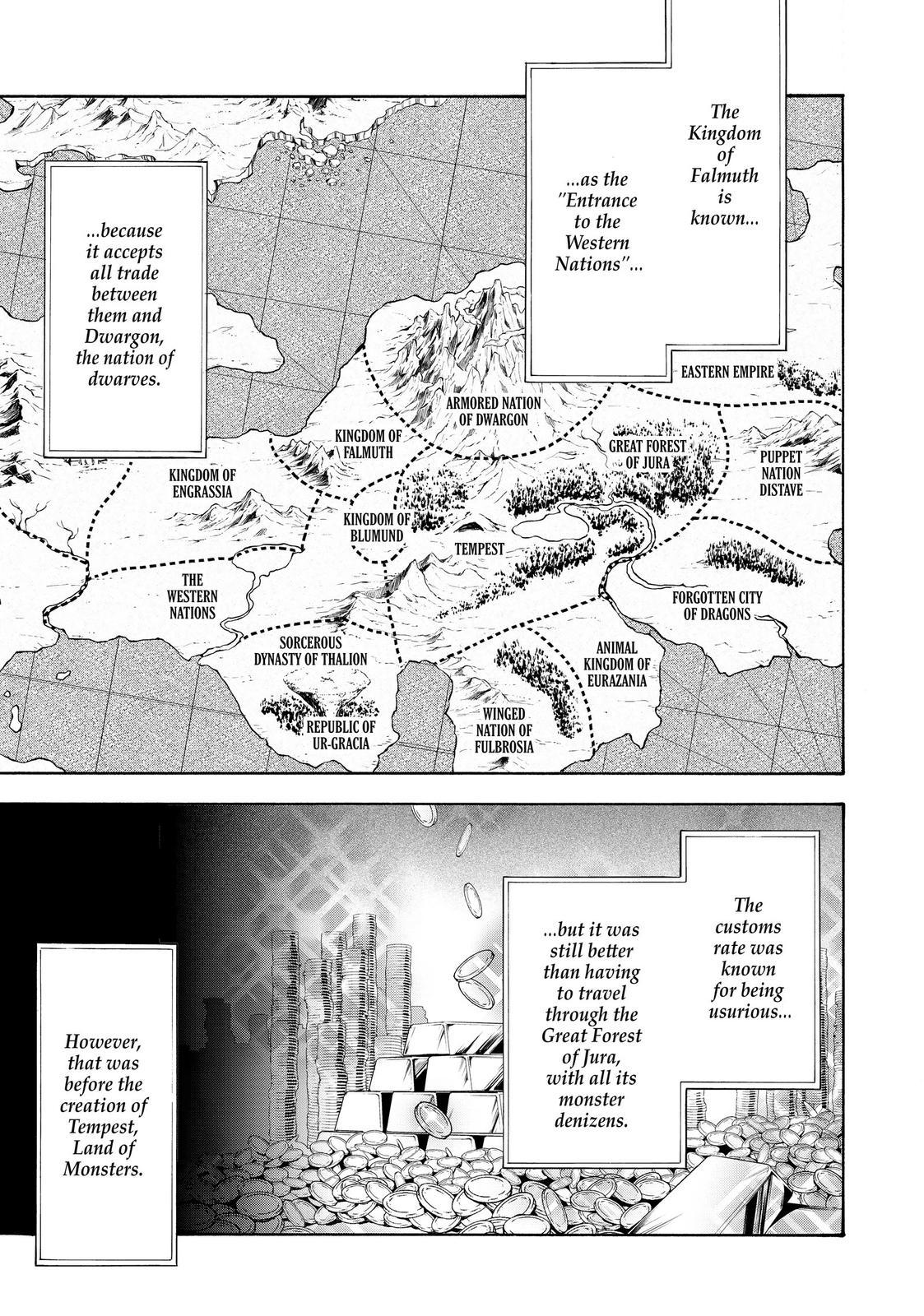 Tensei shitara Slime Datta Ken, Chapter 54 image 001