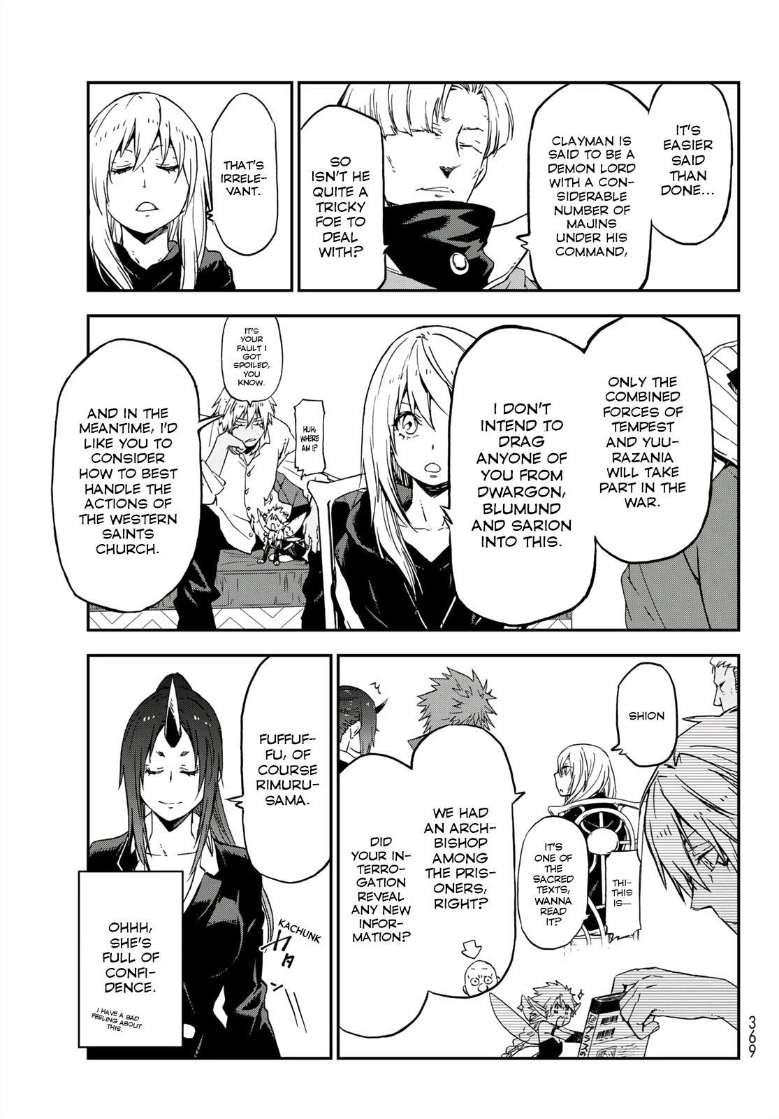 Tensei shitara Slime Datta Ken, Chapter 75 image 021