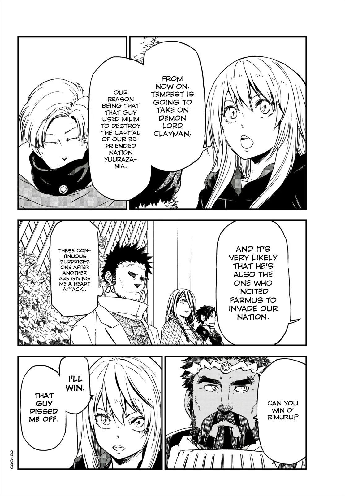 Tensei shitara Slime Datta Ken, Chapter 75 image 020