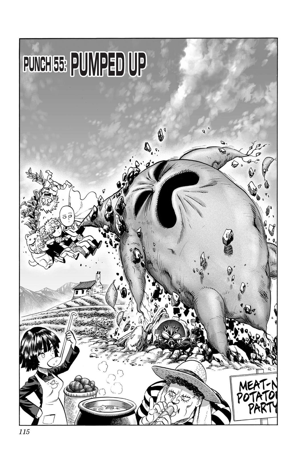 One-Punch Man, Chapter 55 image 001