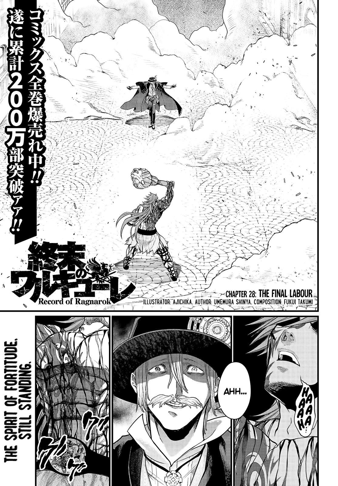 Shuumatsu no Valkyrie, Chapter 28 image 003
