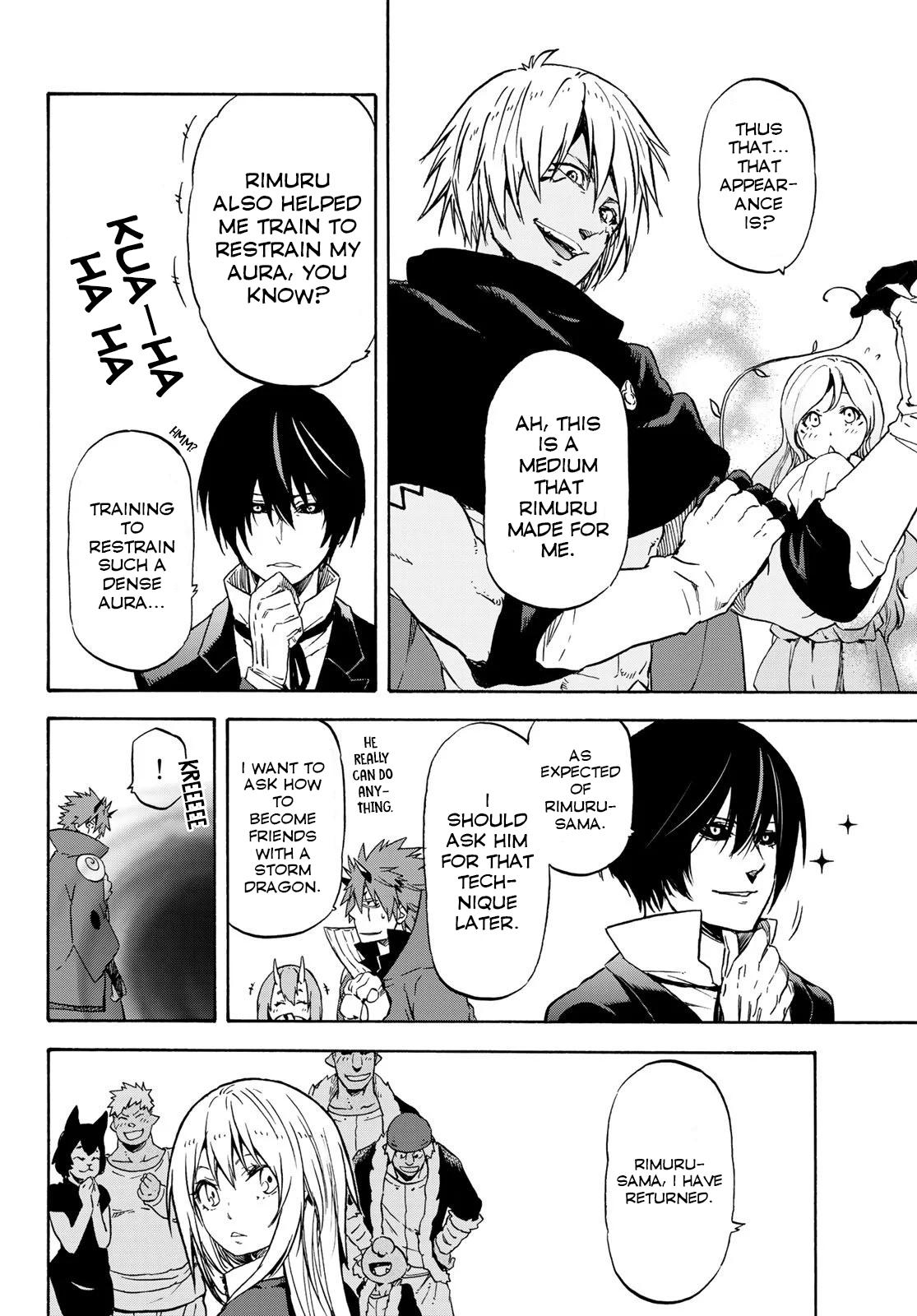 Tensei shitara Slime Datta Ken, Chapter 72 image 018